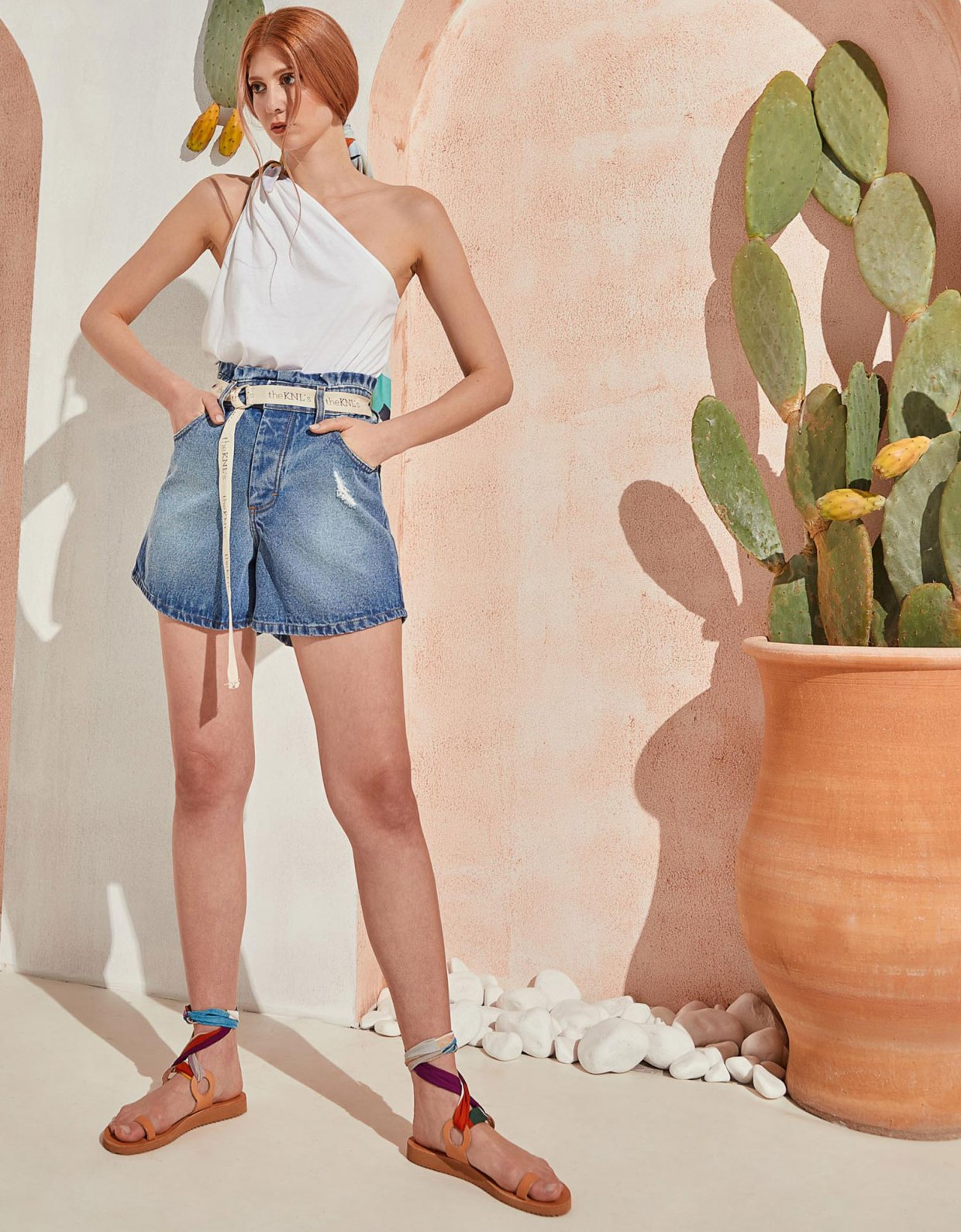 The Knl's Hitch jean shorts med blue