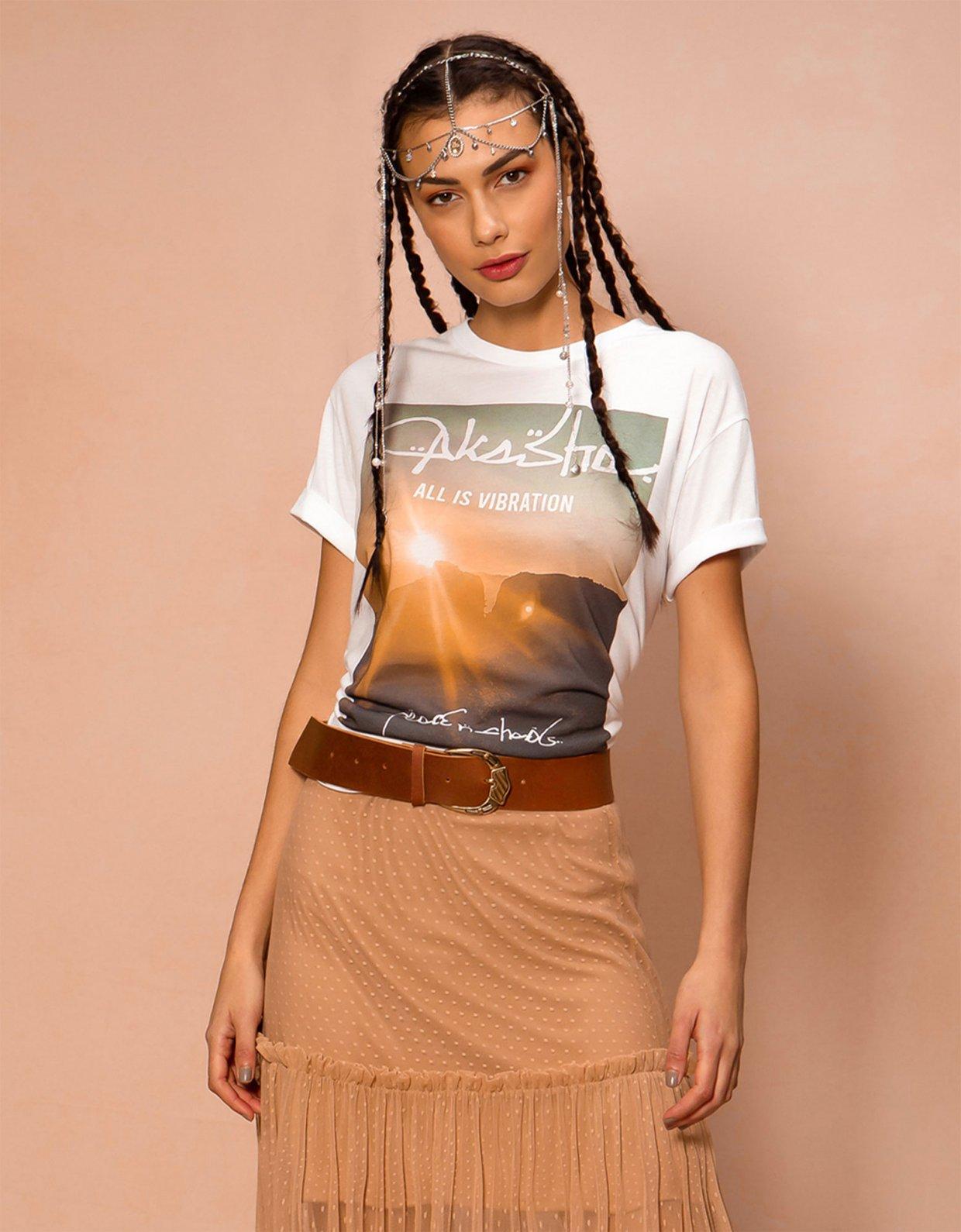 Peace & Chaos Akasha t-shirt