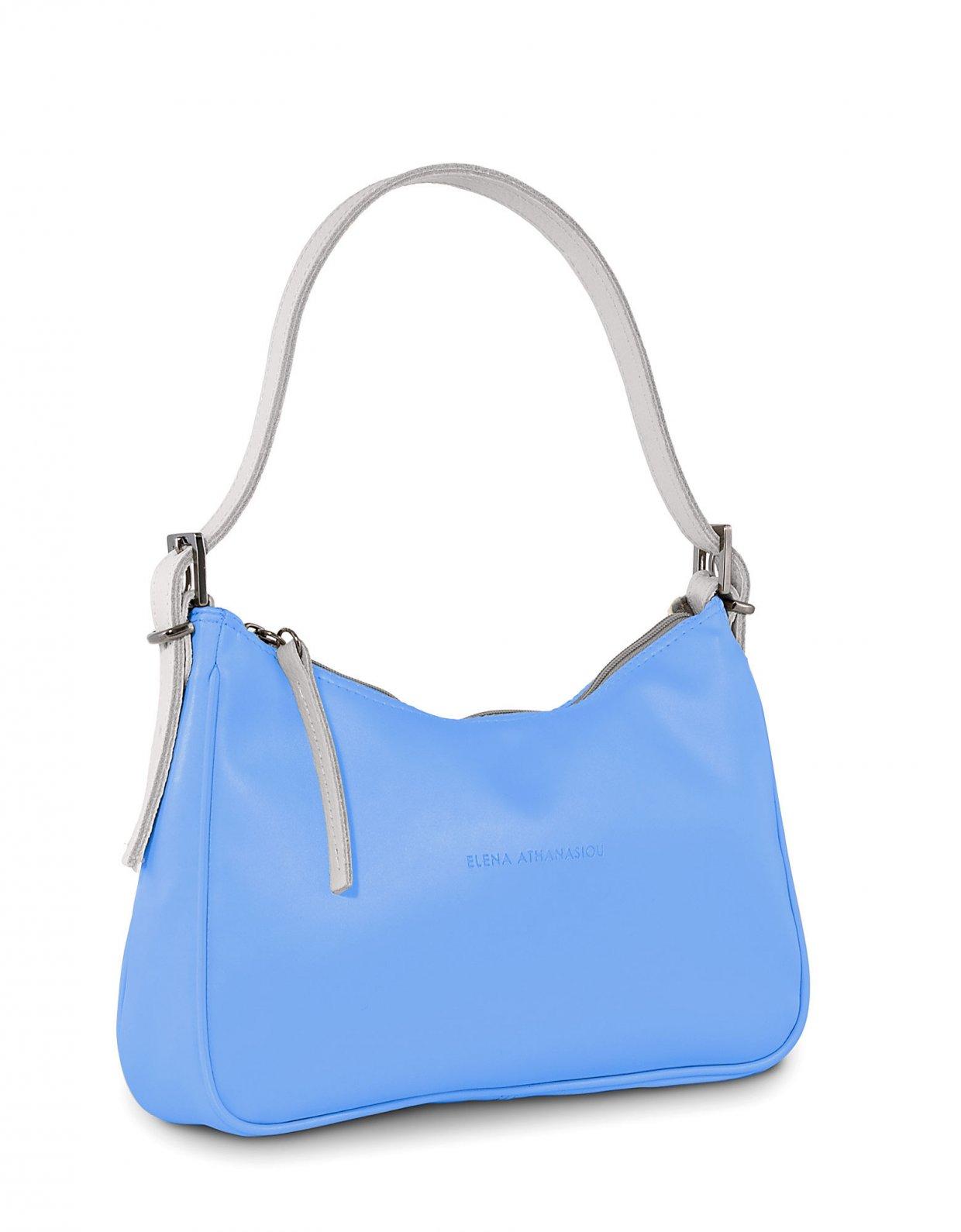 Elena Athanasiou Vintage baguette periwinkle blue