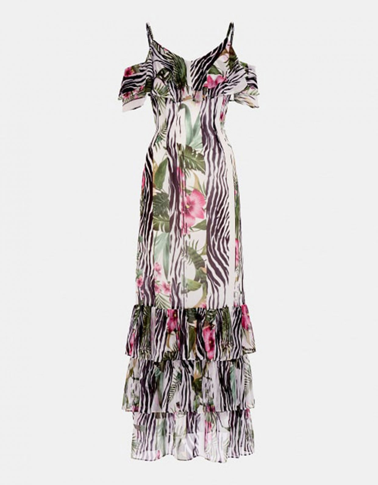 GUESS Agathe all over print dress