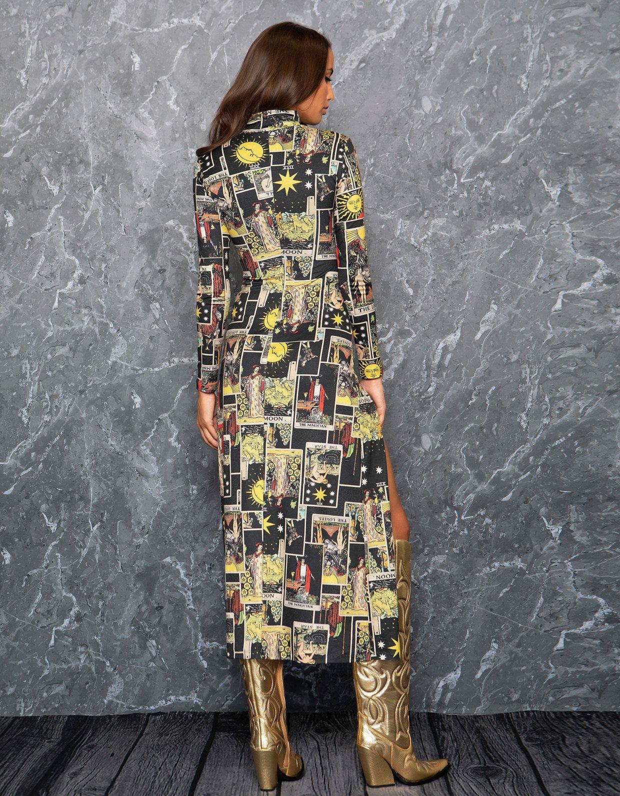 Peace & Chaos Tarot long dress