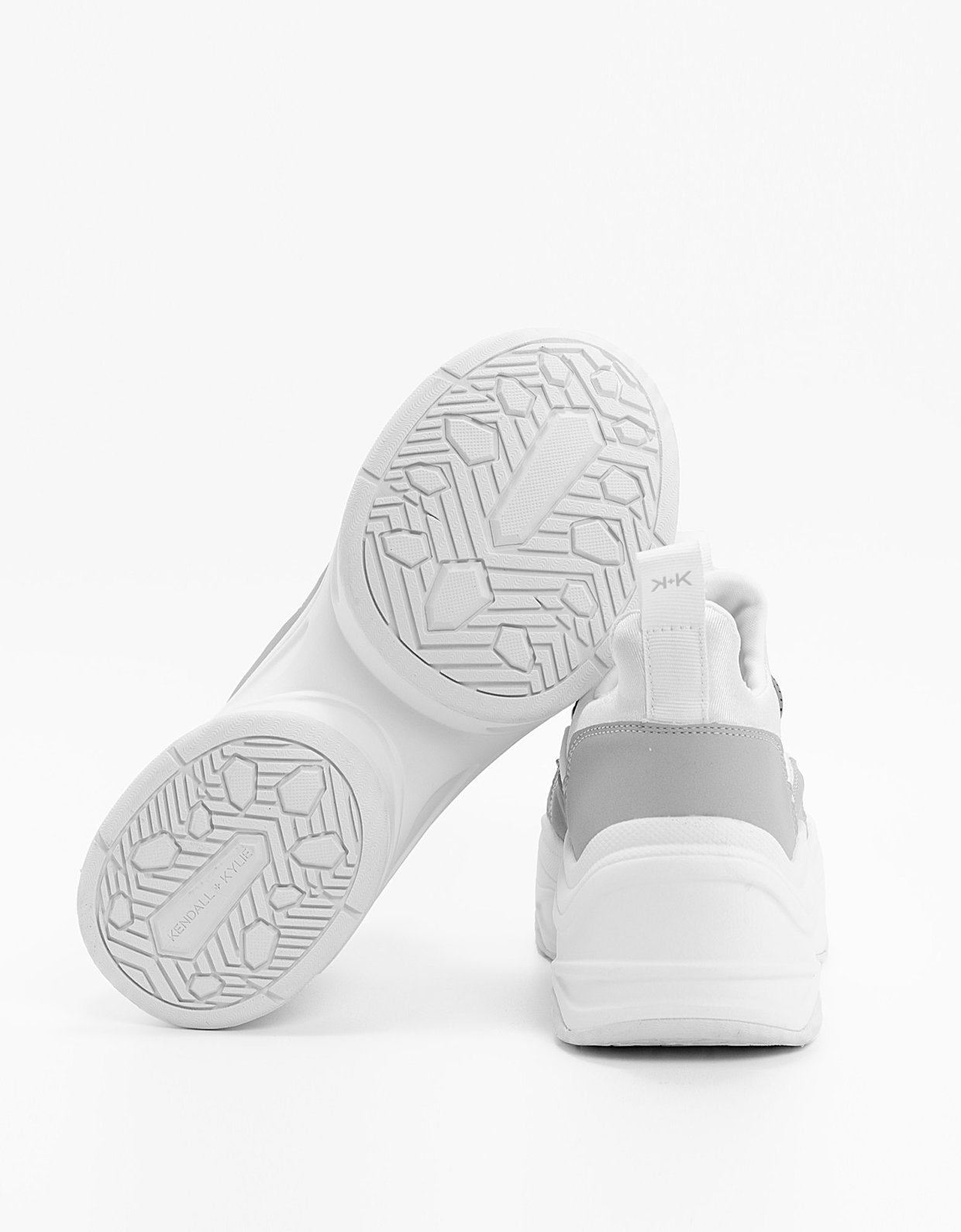 Kendall + Kylie Willow shoes ice/white
