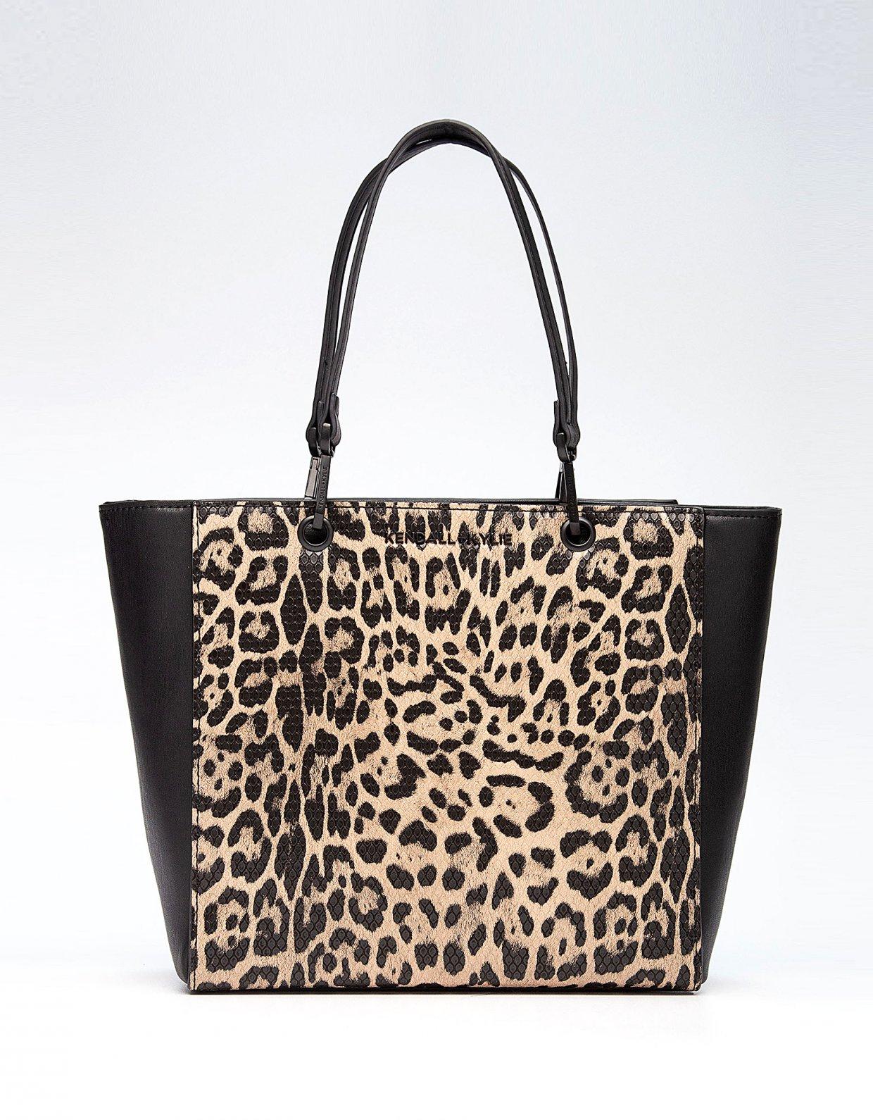 Kendall + Kylie Sarahya tote bag leopard