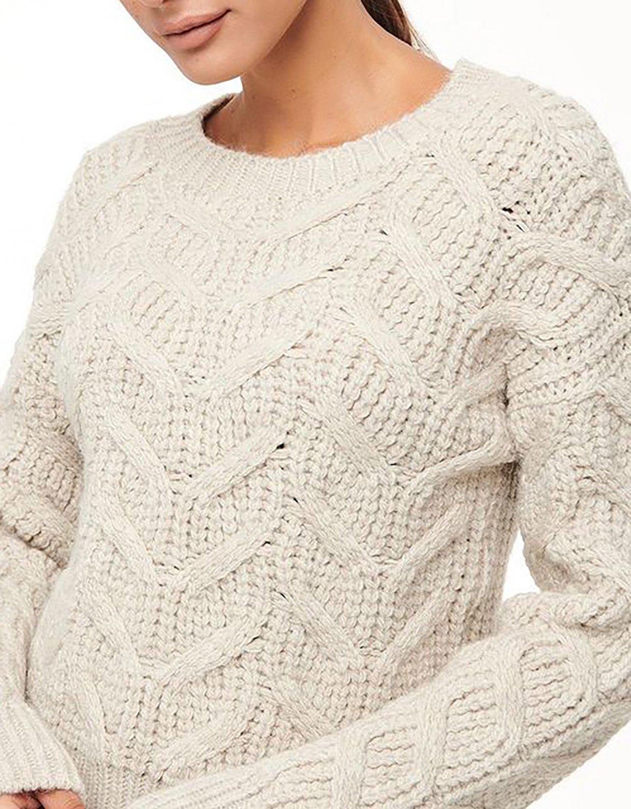 Combos Knitwear Combos W57 – Beige sweater