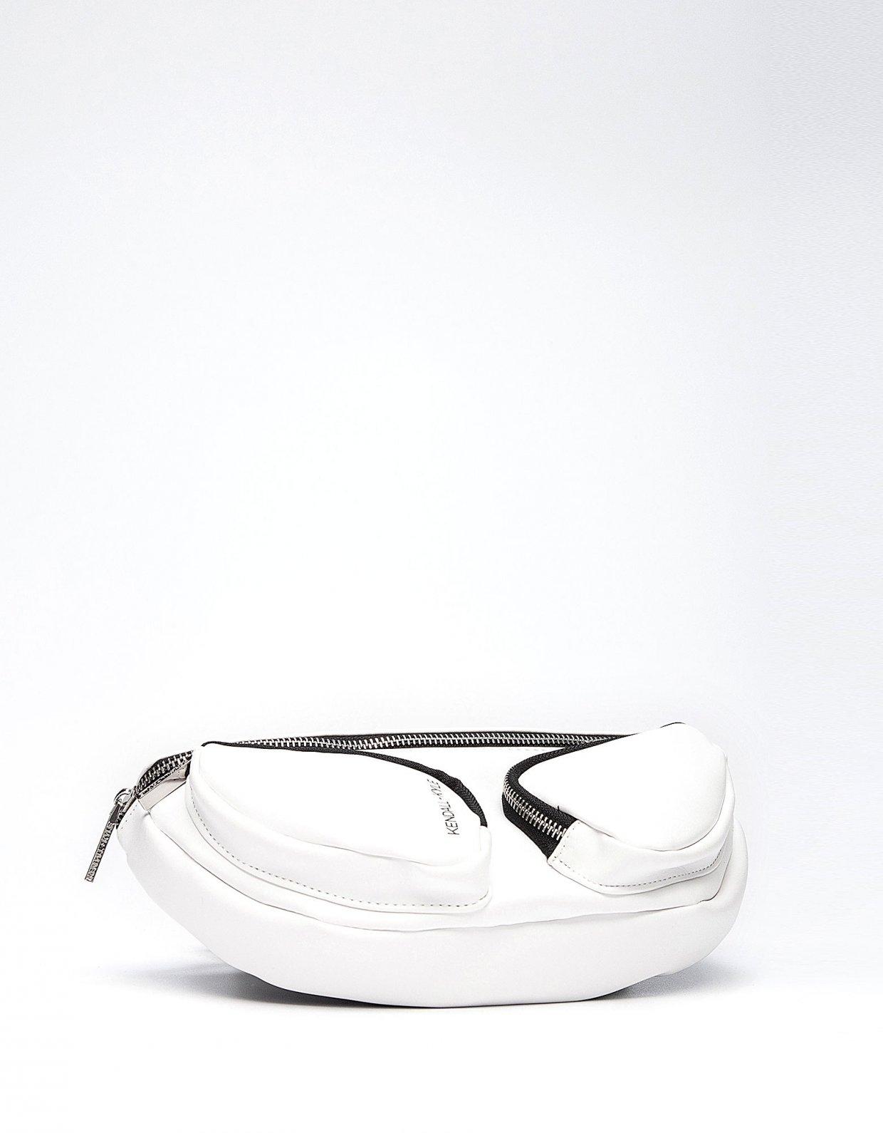 Kendall + Kylie Mia waist bag white