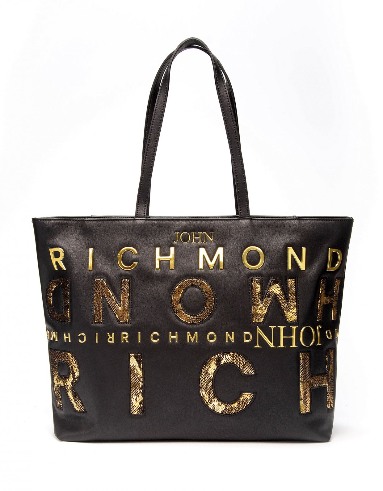 John Richmond Shopper bag Geberga gold