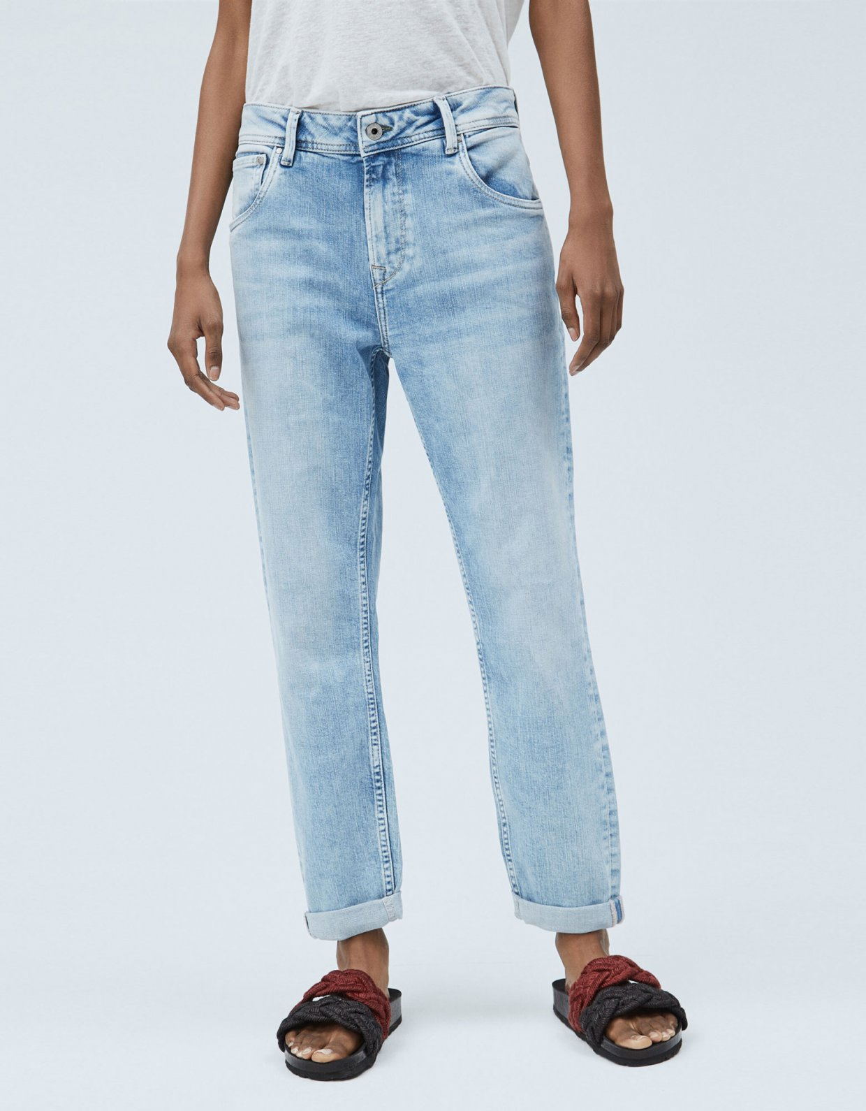 Pepe Jeans Violet carrot fit high-waist jeans