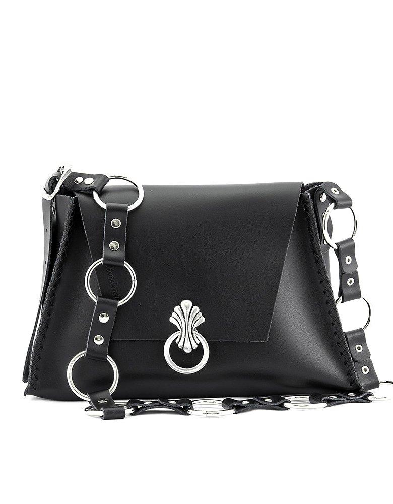 Individual Art Leather Words bag black