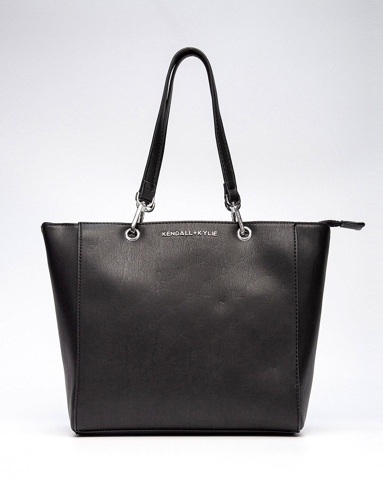 Kendall + Kylie Sarahya tote bag black