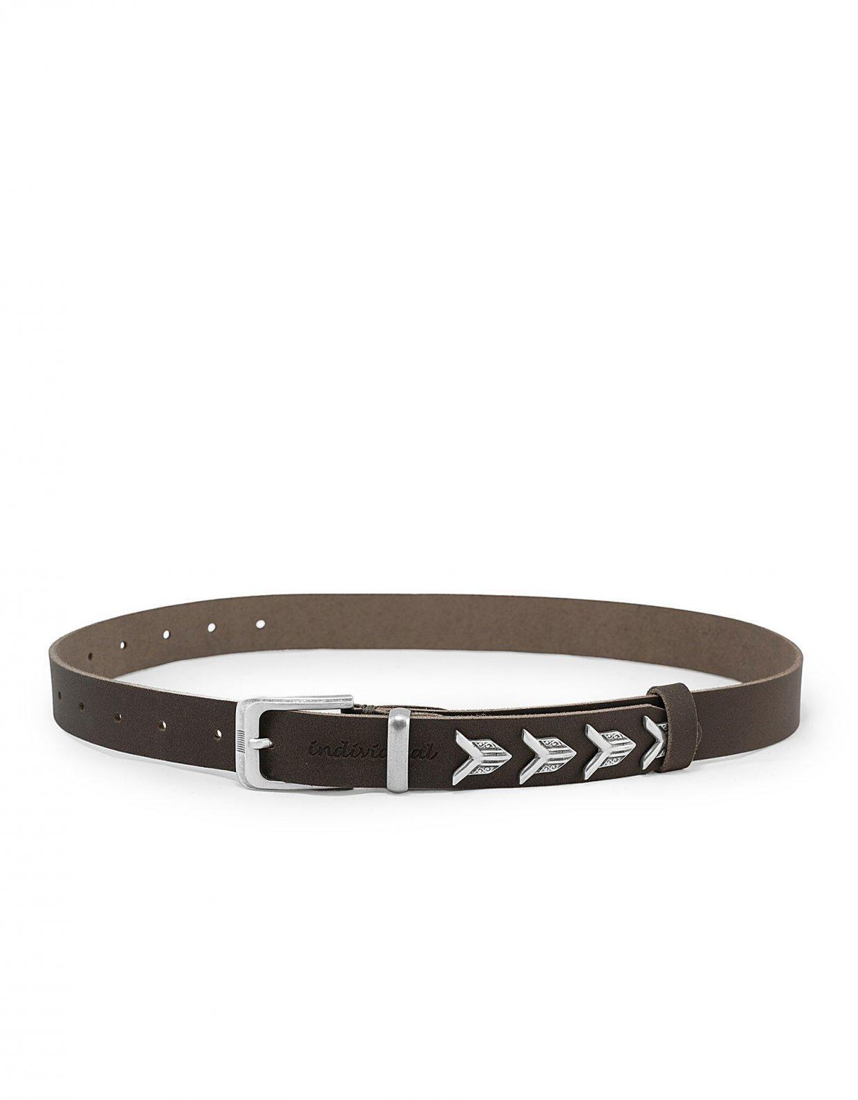 Individual Art Leather Paranoid belt brown