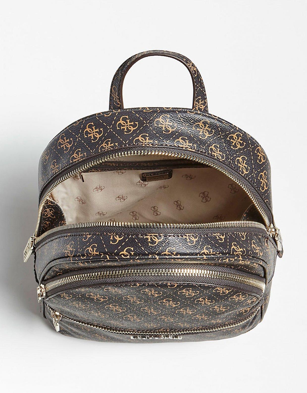 GUESS Manhattan backpack logo