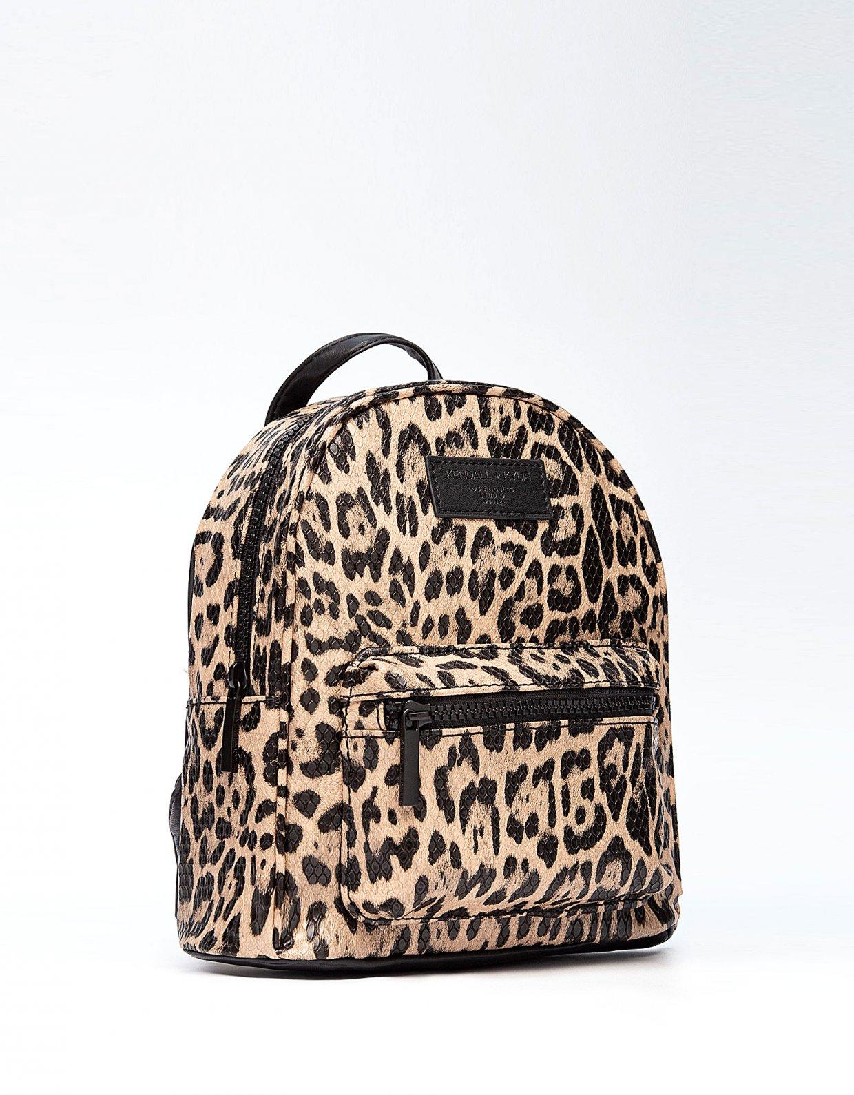 Kendall + Kylie Sam mini backpack leopard