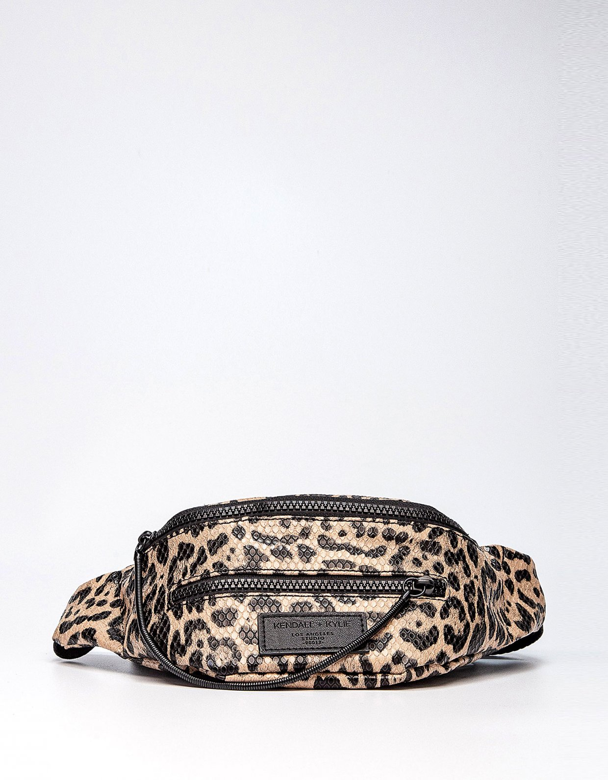 Kendall + Kylie Carina fanny pack leopard
