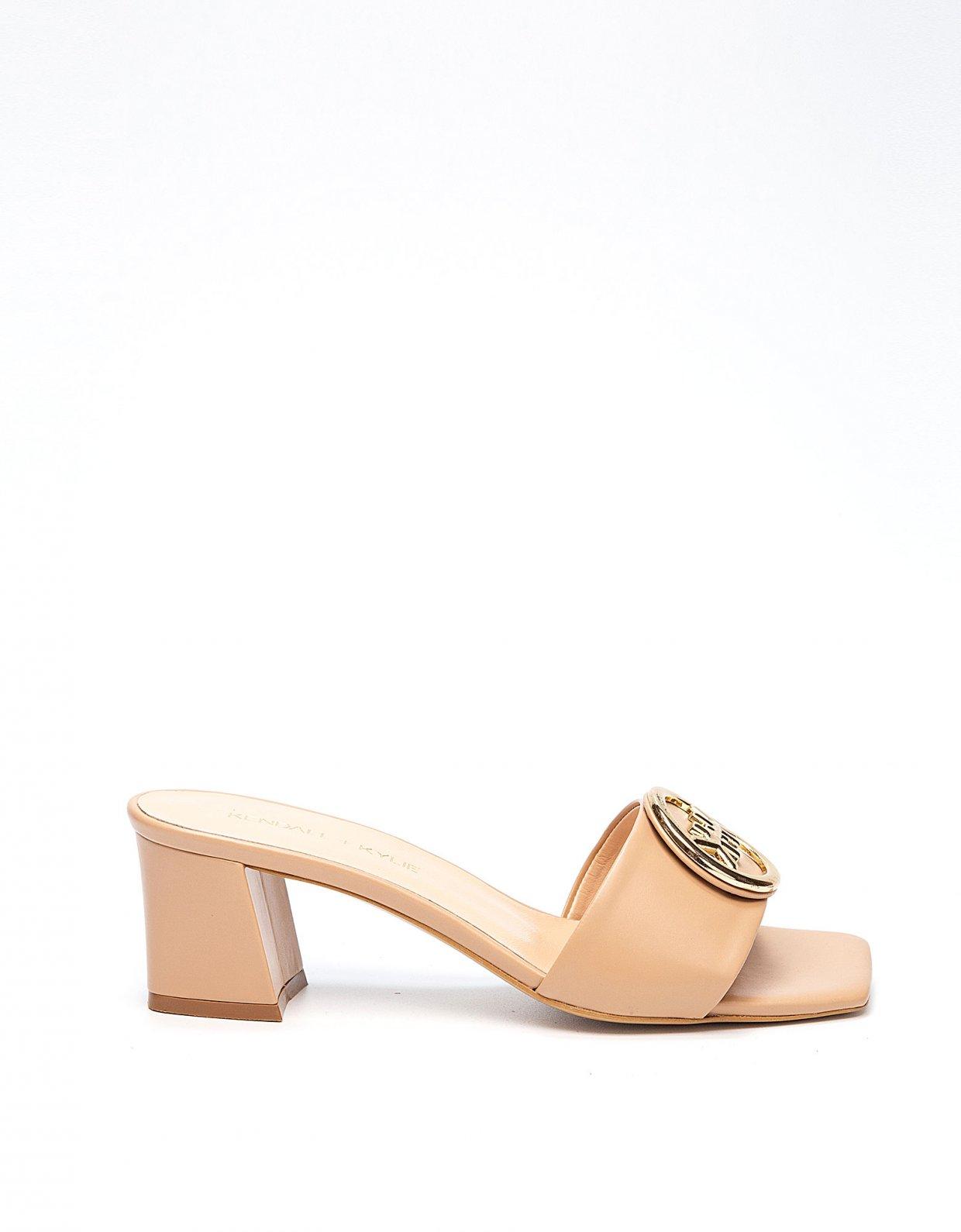 Kendall + Kylie Baya nude sandals