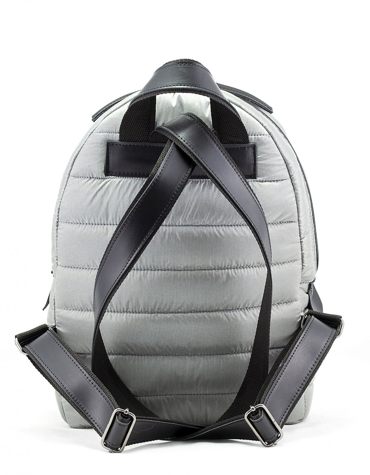 Elena Athanasiou Puffer fly backpack grey