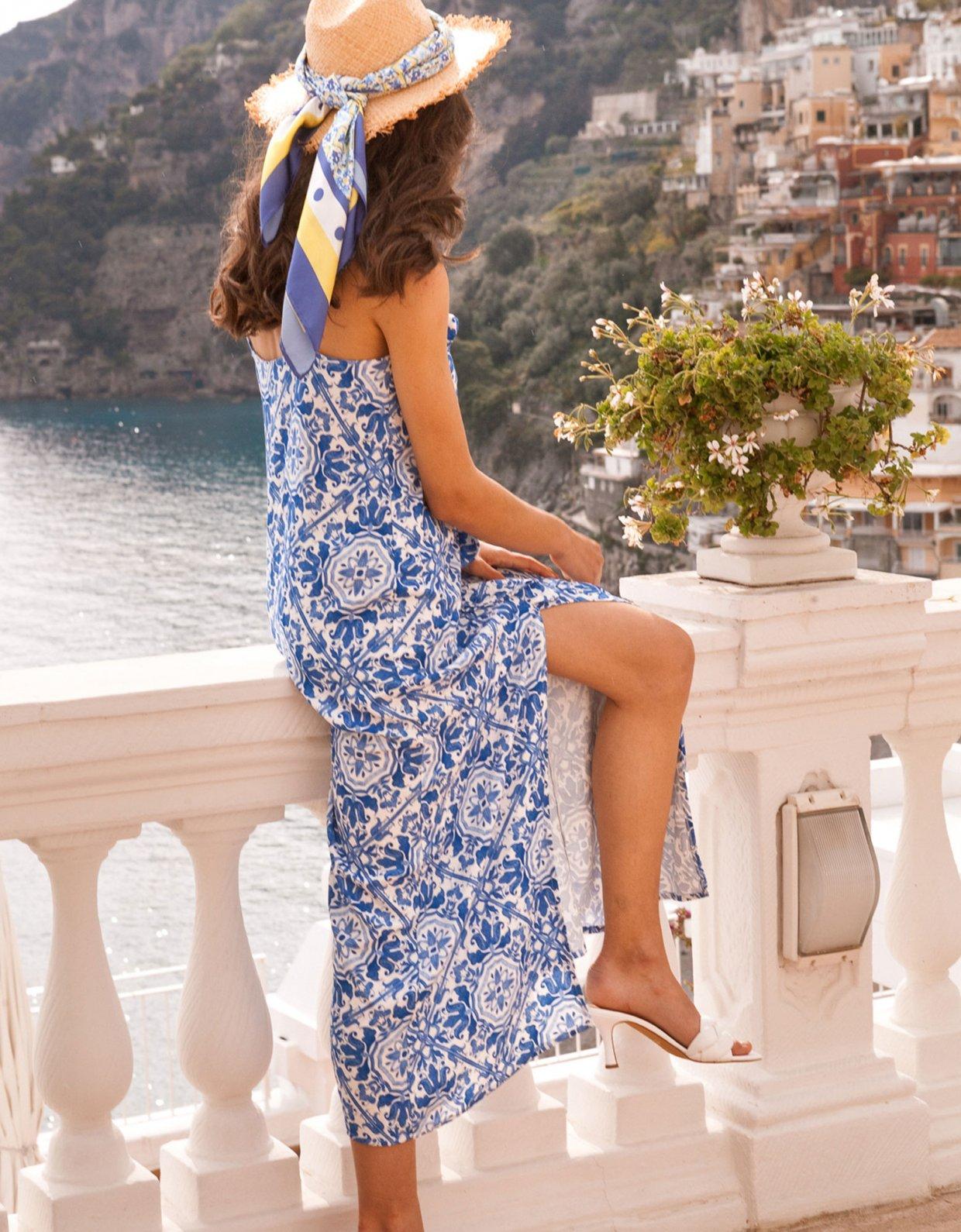 Mallory the label Daiquiri blue dress