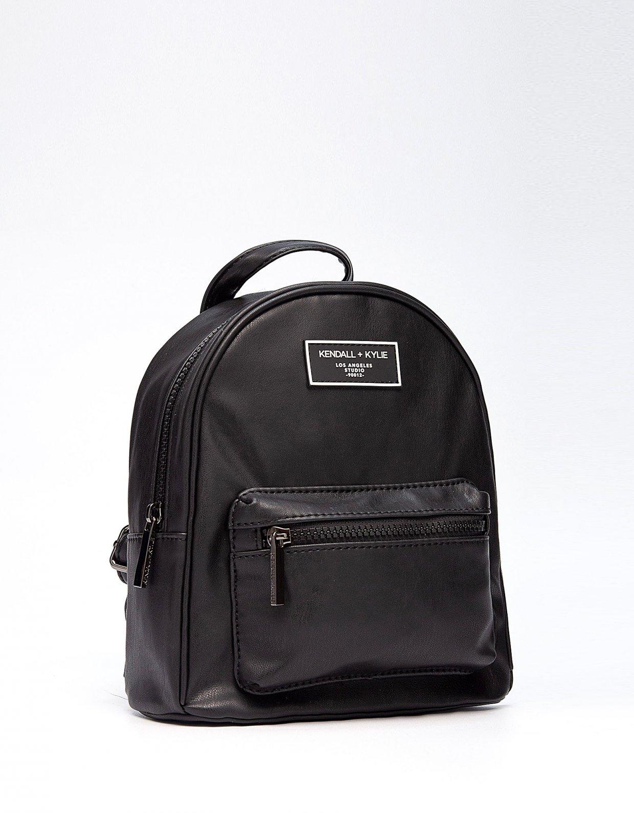 Kendall + Kylie Sam mini backpack black