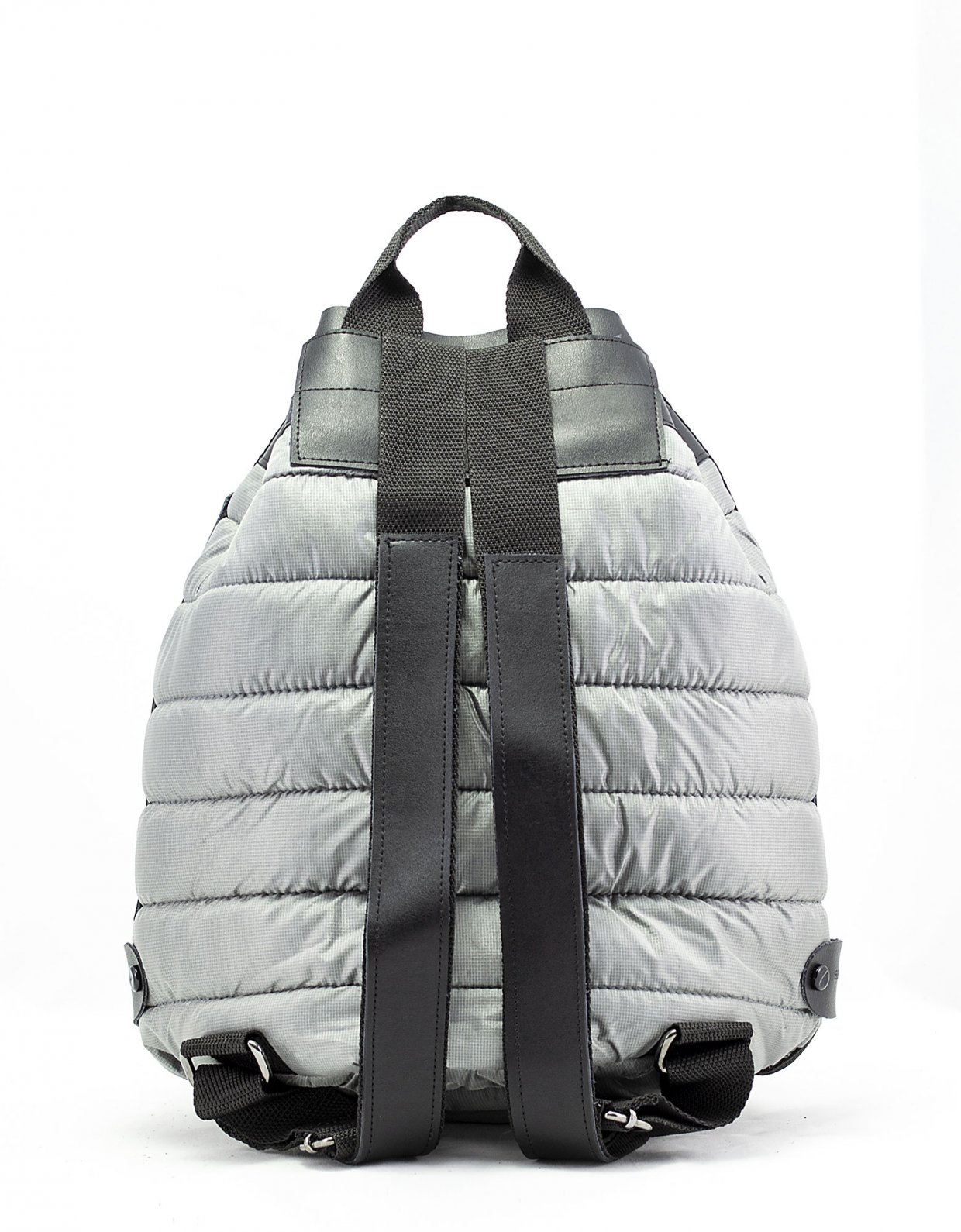 Elena Athanasiou Puffer backpack grey