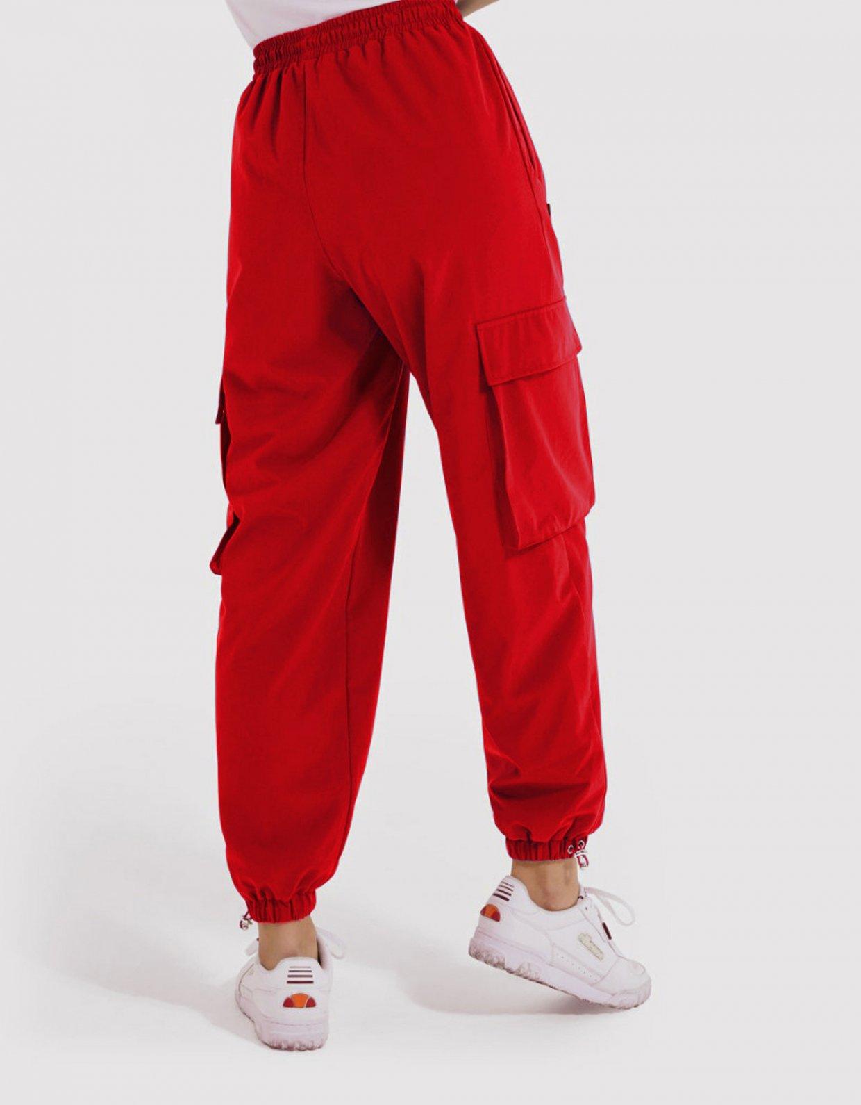 Ellesse Rosana track pants red
