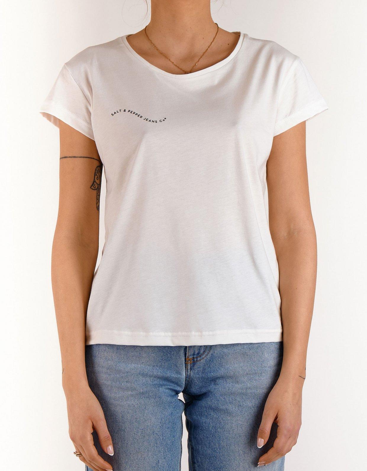 Salt & Pepper Ashley off-white t-shirt 2