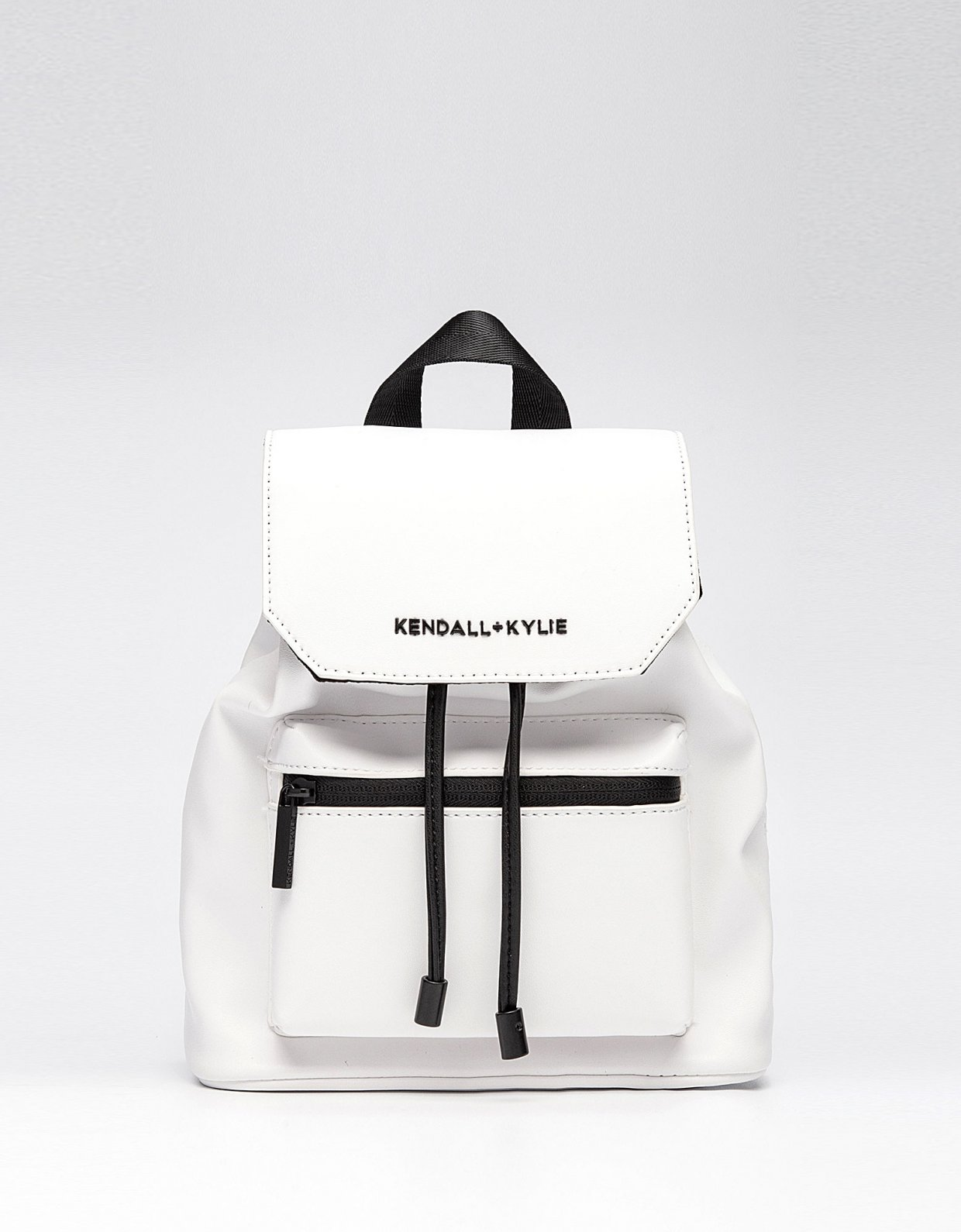 Kendall + Kylie Serena small backpack white