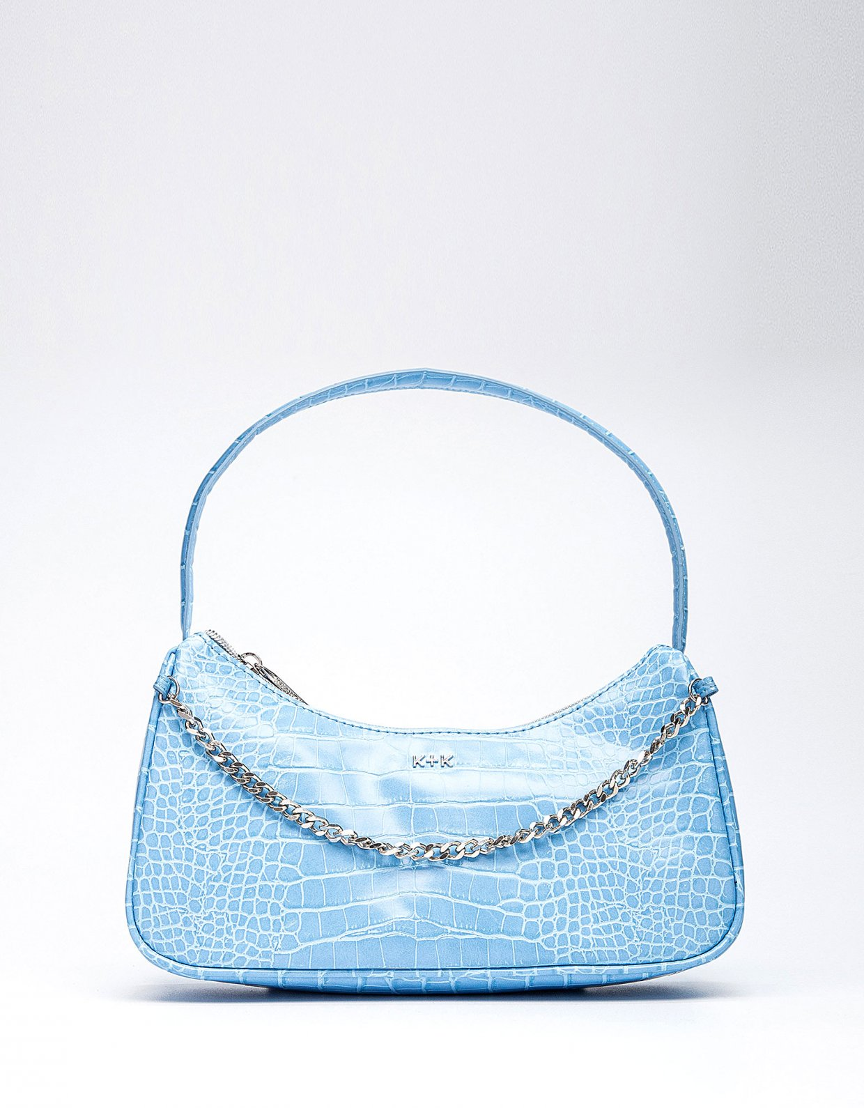 Kendall + Kylie Haisley hobo bag blue