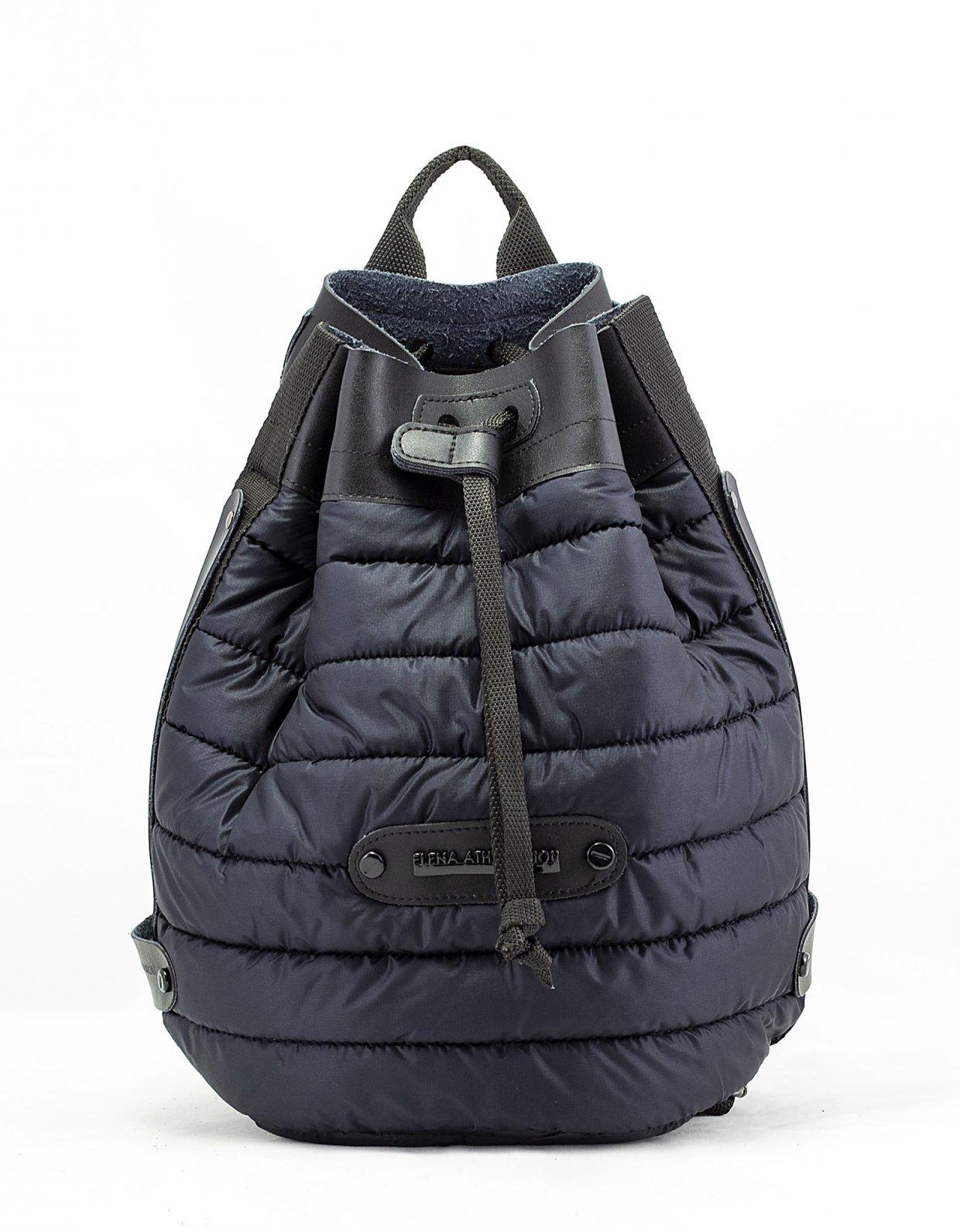 Elena Athanasiou Puffer backpack black