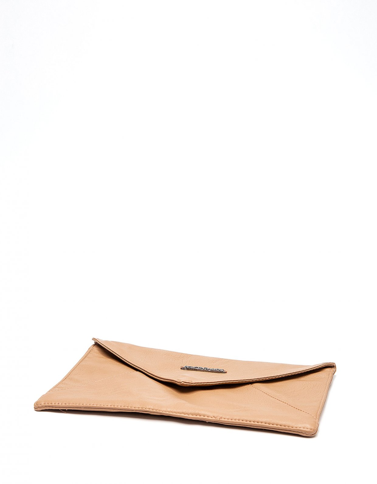 Peace & Chaos Envelope clutch bag beige