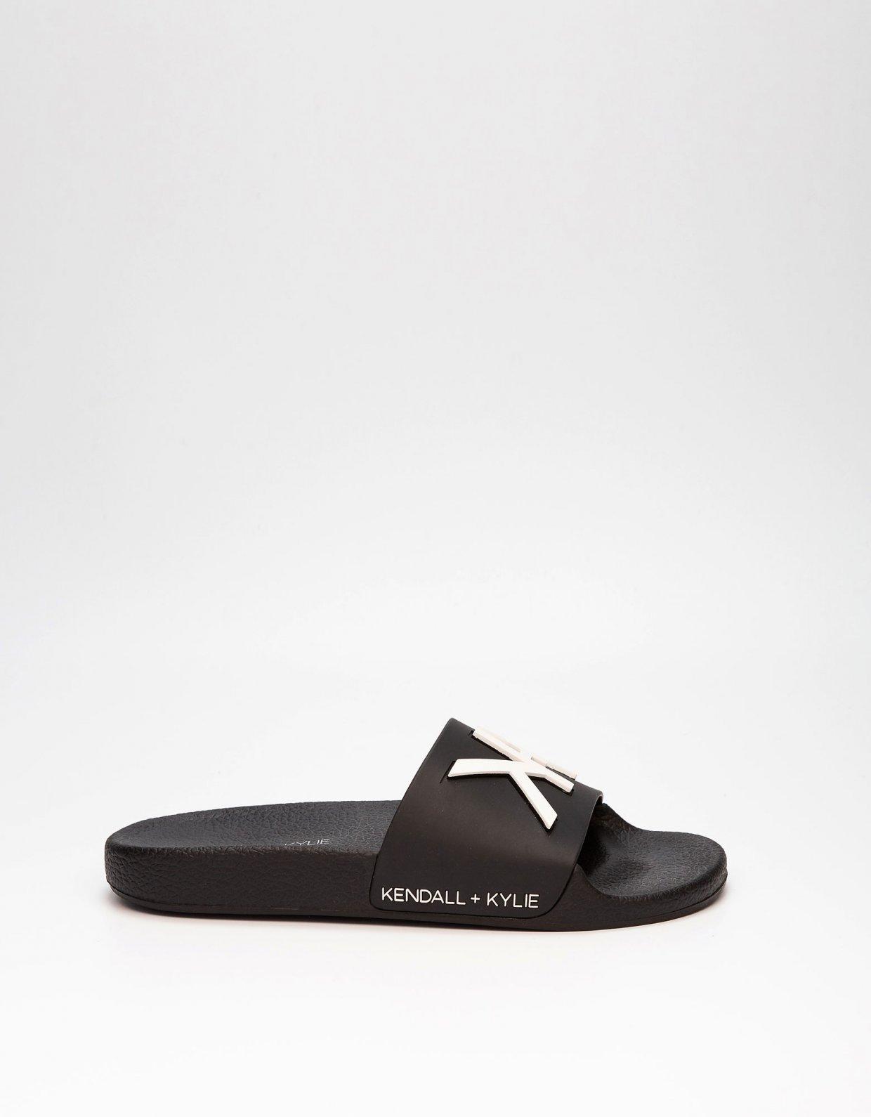 Kendall + Kylie KK Ellis slippers black/black