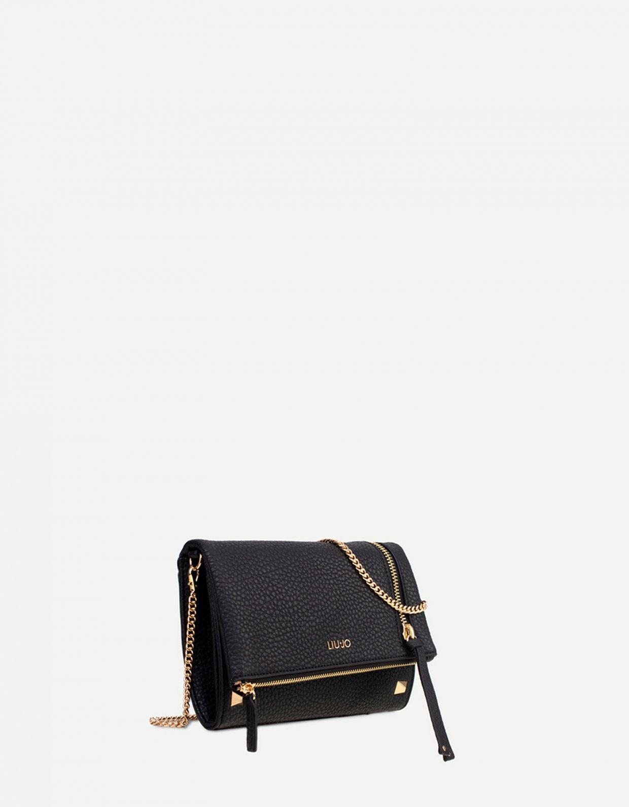 Liu Jo Clutch bag with zip black