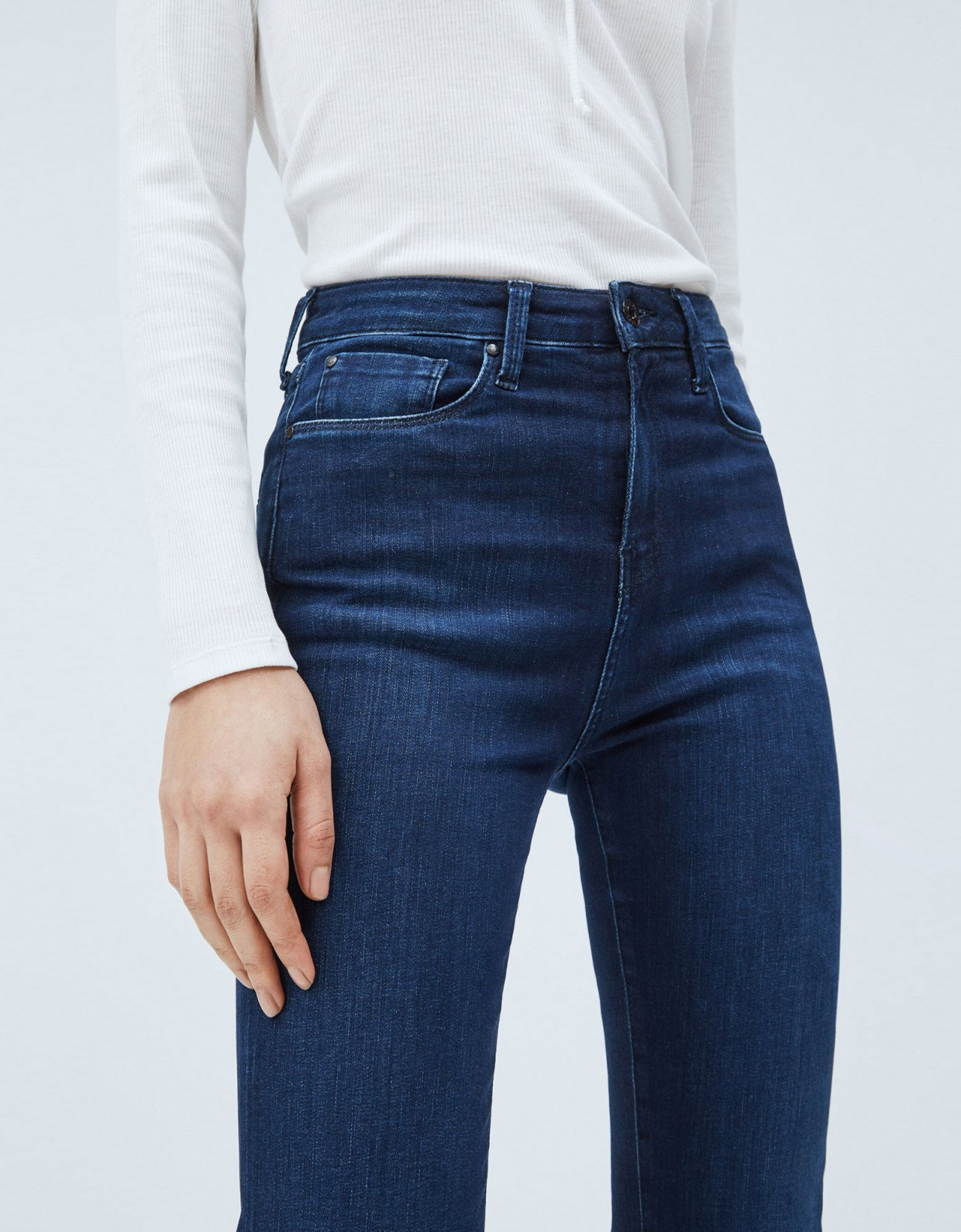 Pepe Jeans Dion flare high-waist jeans