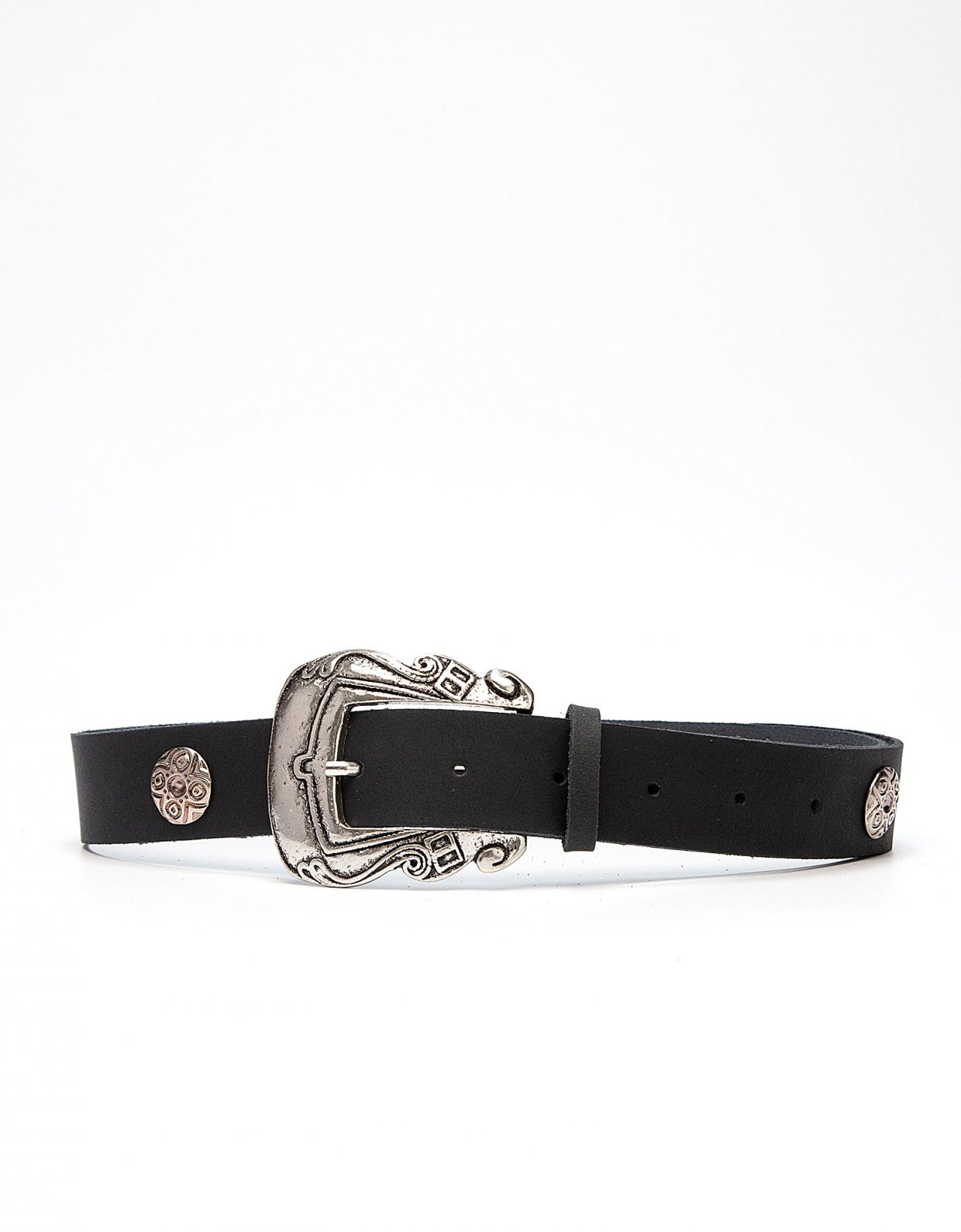 Peace & Chaos Versailles leather belt black