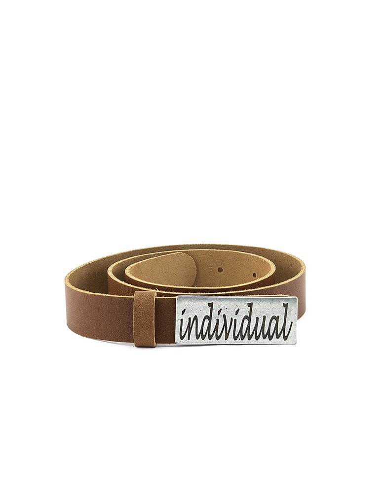 Individual Art Leather Individual belt taba