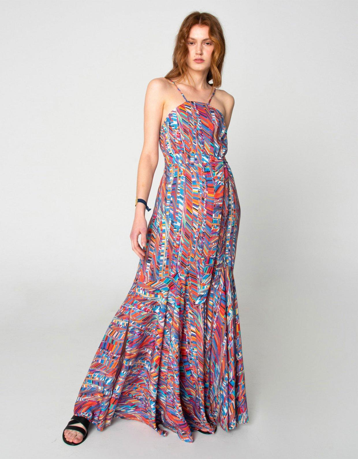 Nadia Rapti Into the jungle dress