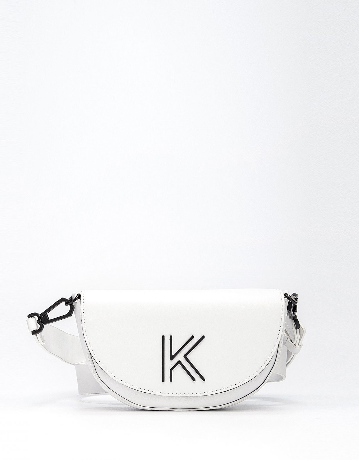 Kendall + Kylie Cynthia waist bag white