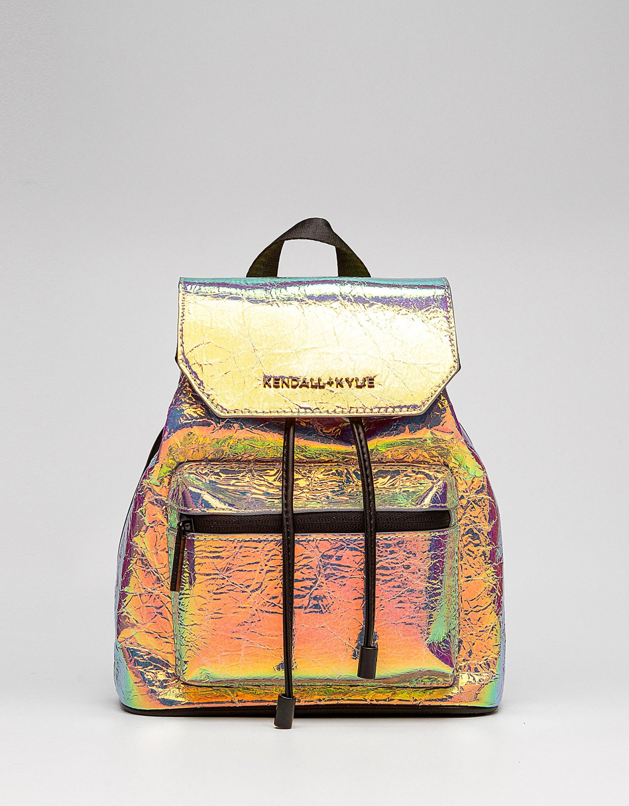 Kendall + Kylie Serena small backpack iridescent