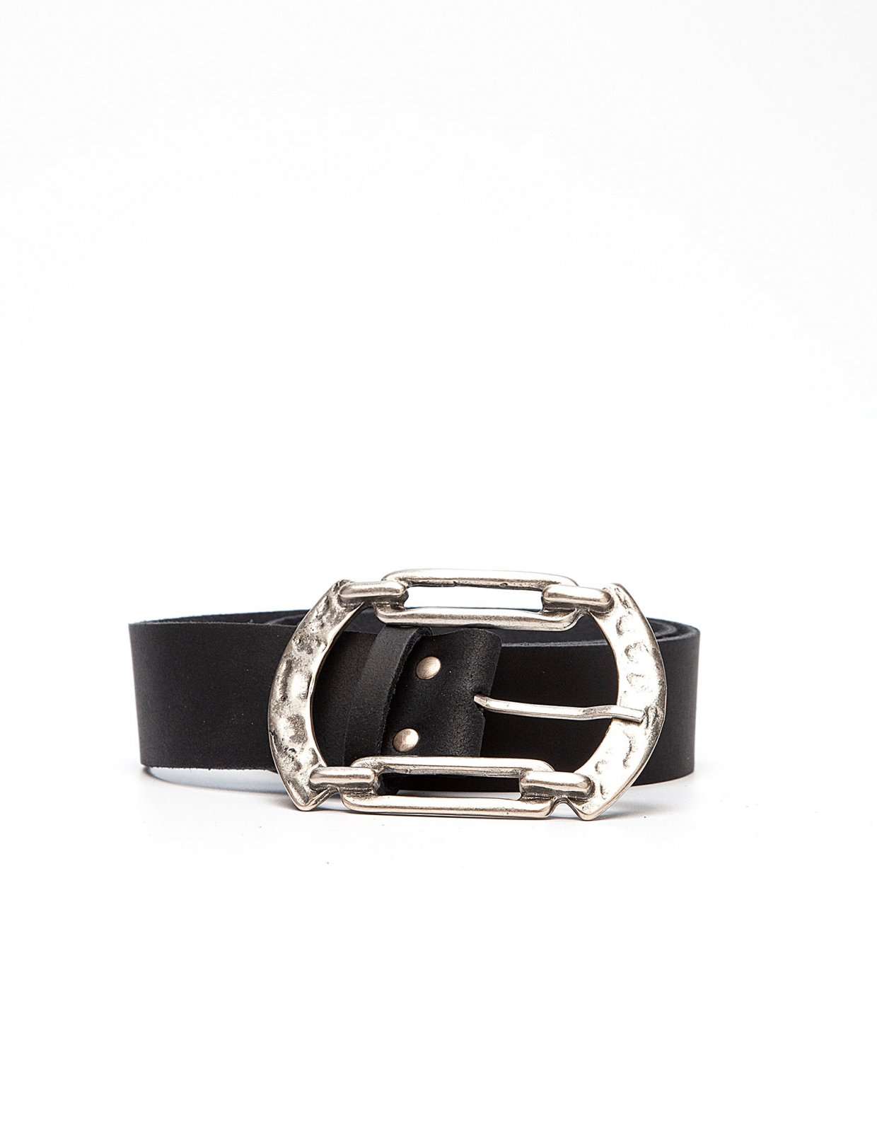 Peace & Chaos Connection leather belt black