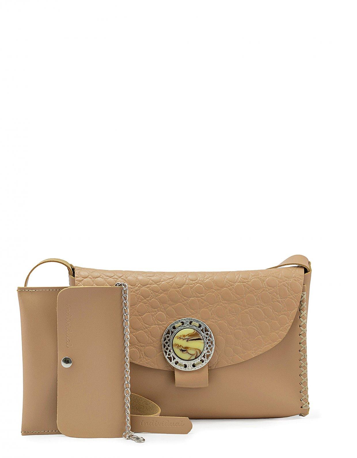 Individual Art Leather Precious bag beige