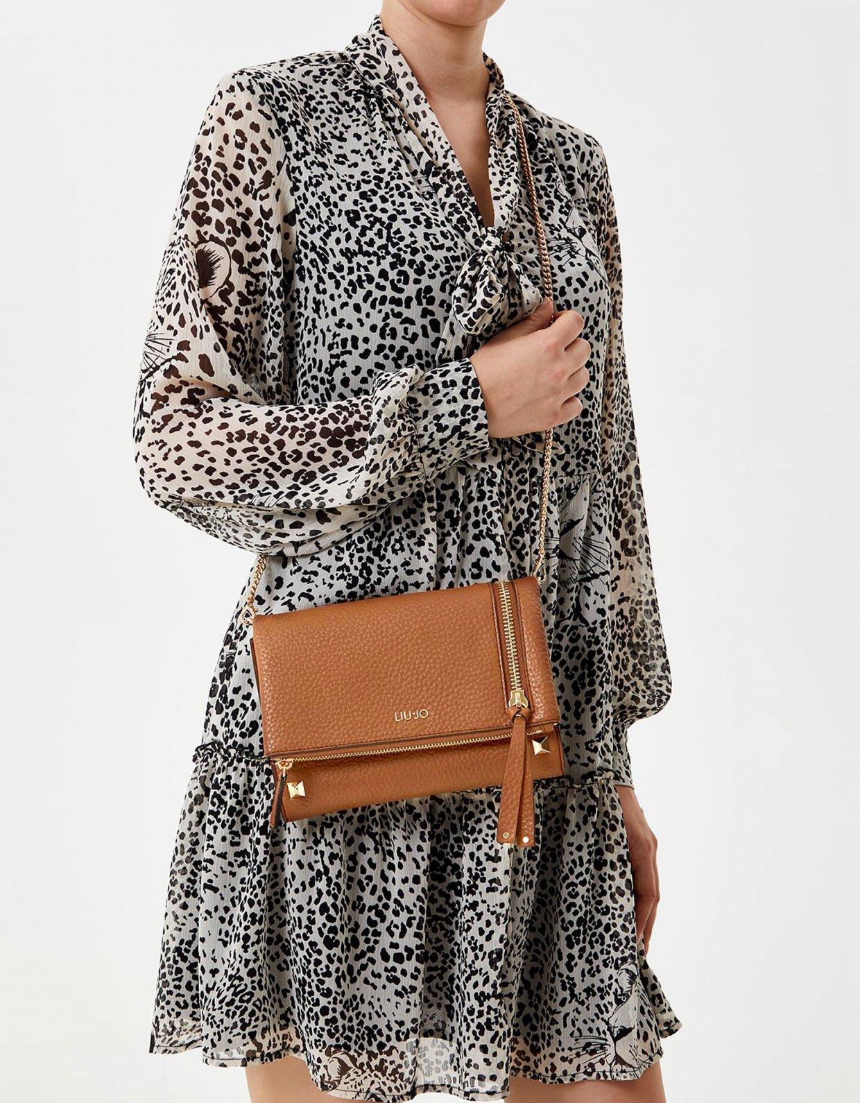 Liu Jo Clutch bag with zip deer