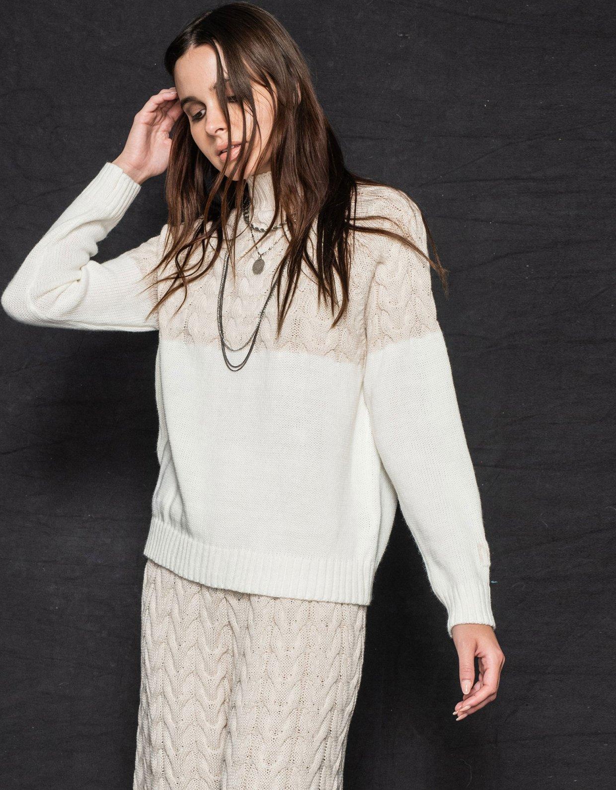 Nadia Rapti Offspring sweater beige