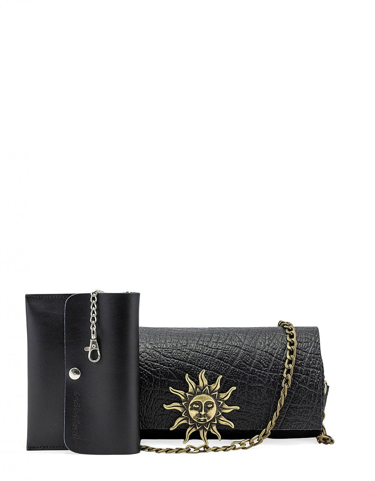Individual Art Leather Believe barrel bag black