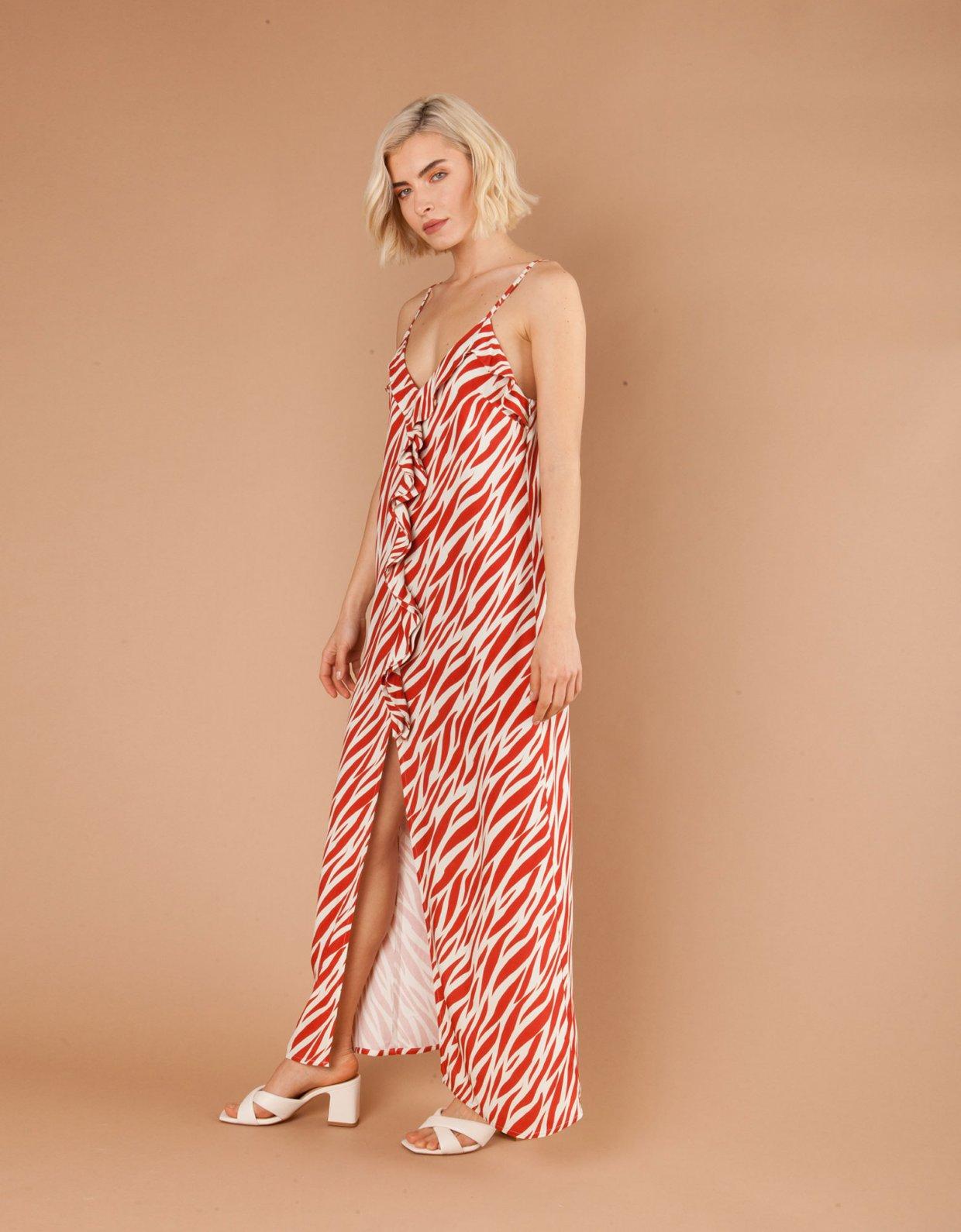 Mallory the label Daiquiri zebra dress