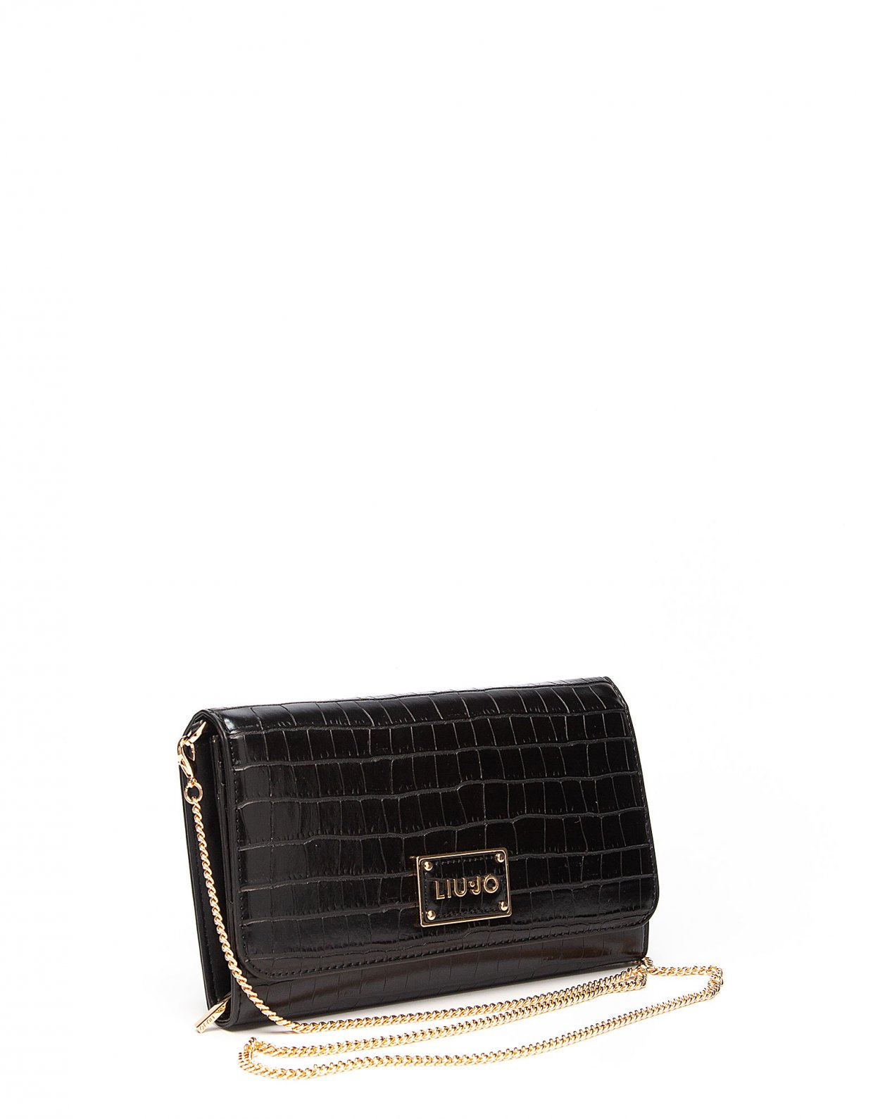 Liu Jo Crossbody bag croco black