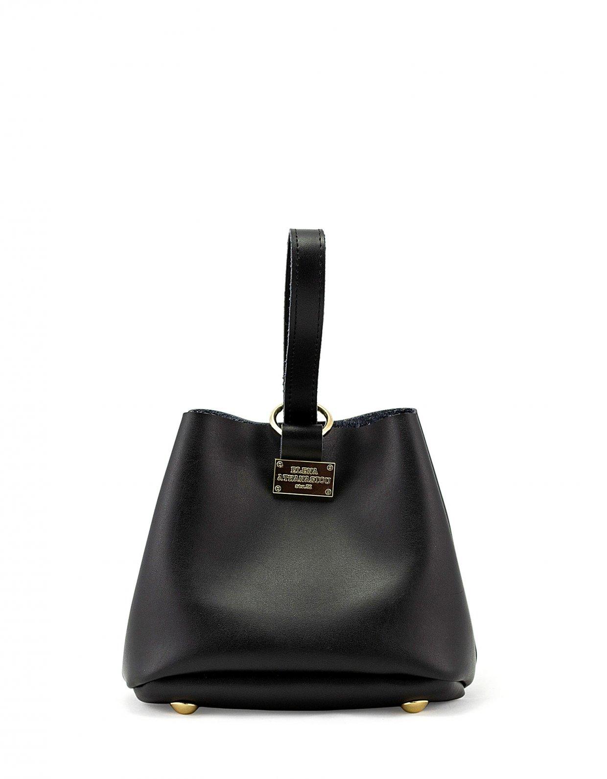 Elena Athanasiou Tiny bag black