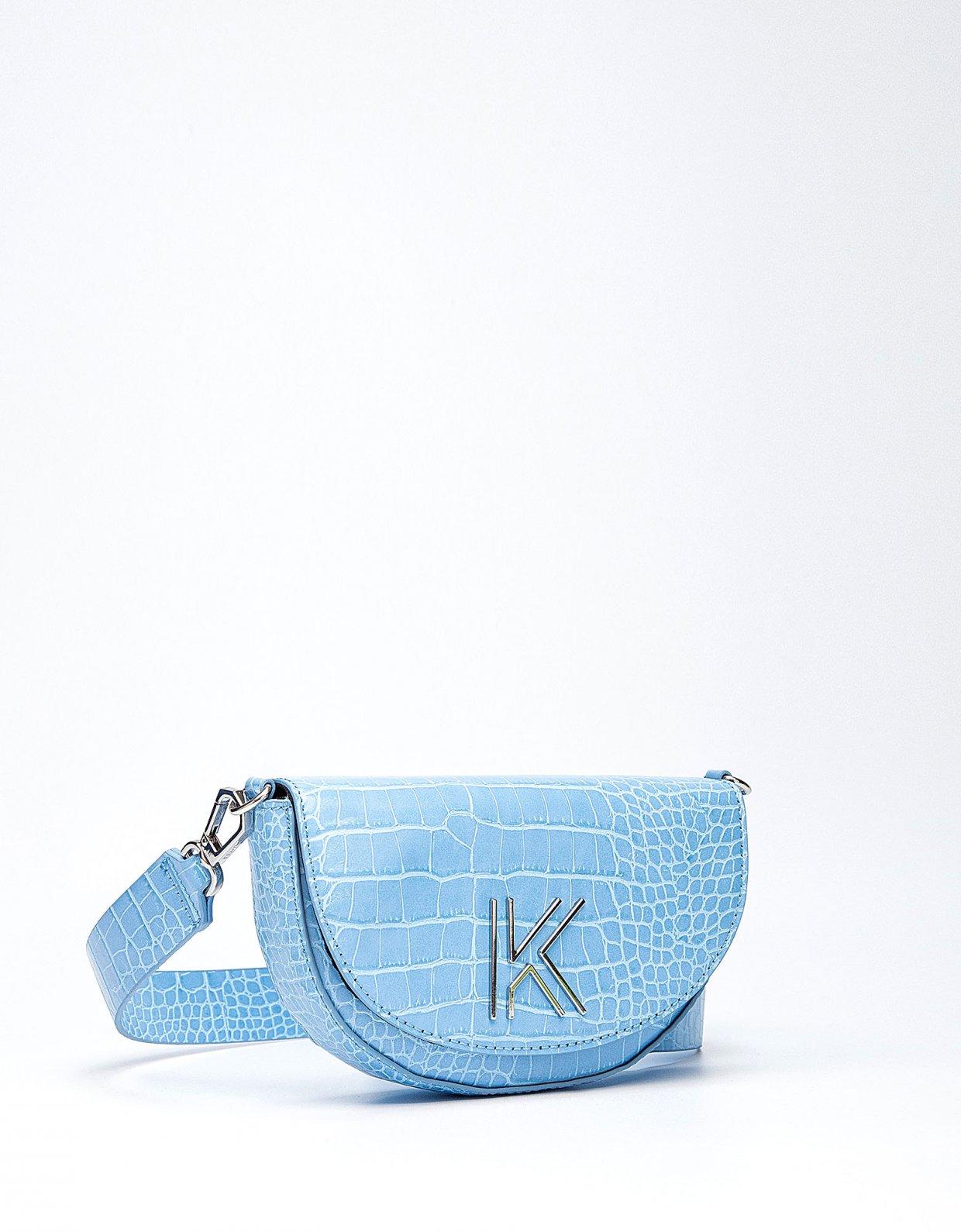 Kendall + Kylie Cynthia waist bag blue