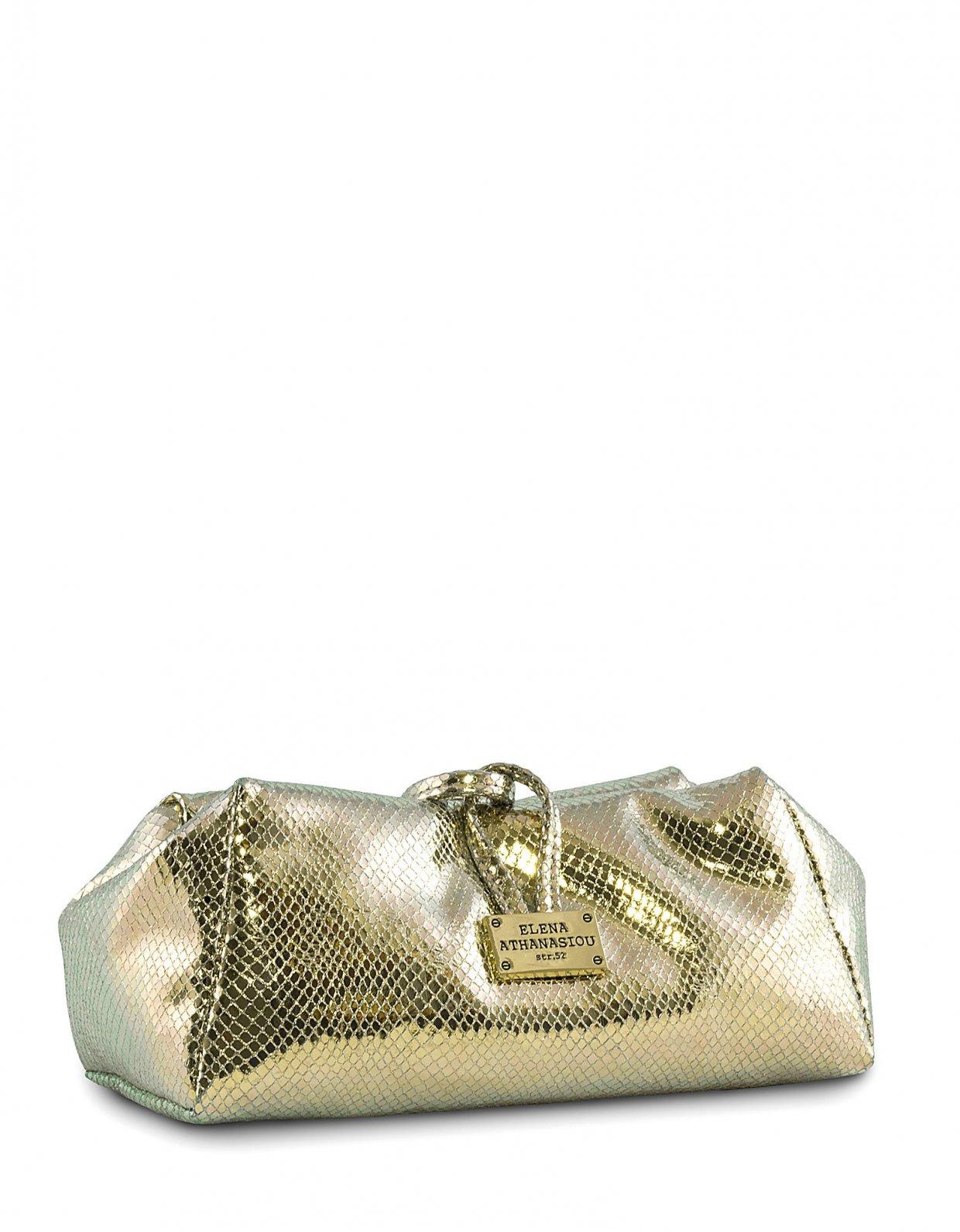 Elena Athanasiou Glitter mermaid lunch bag