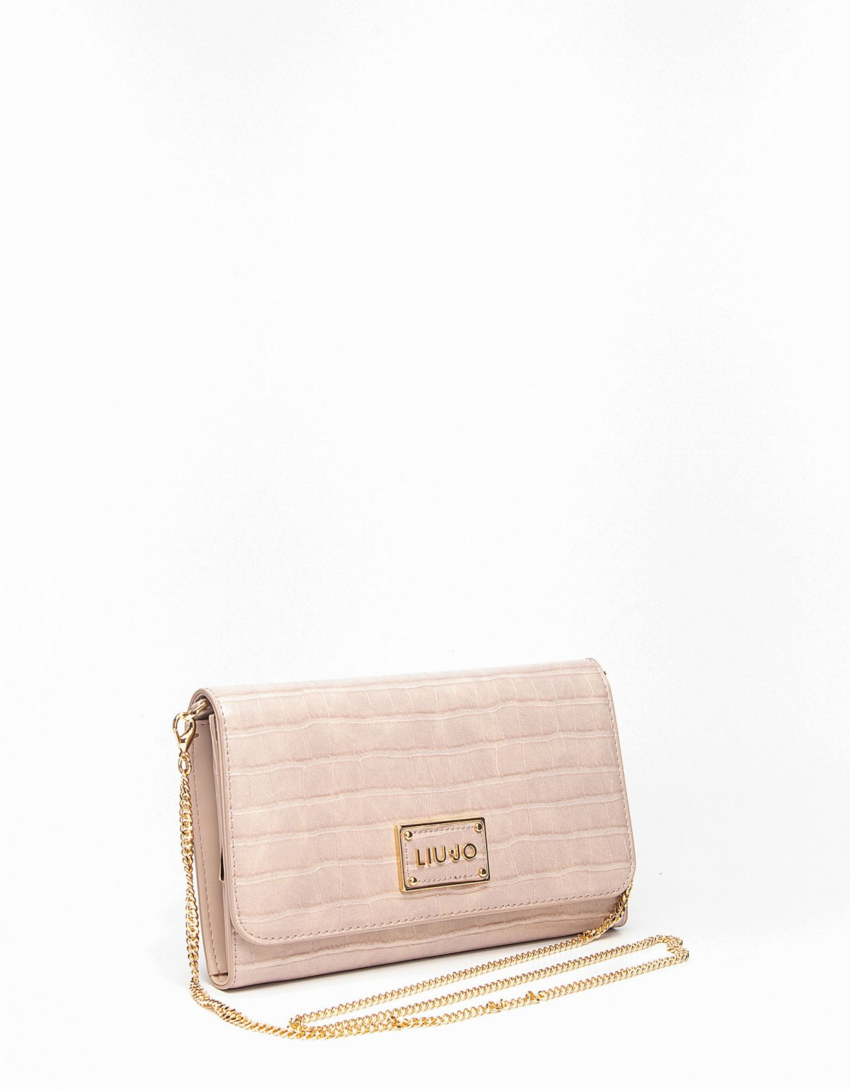 Liu Jo Crossbody bag croco red sand