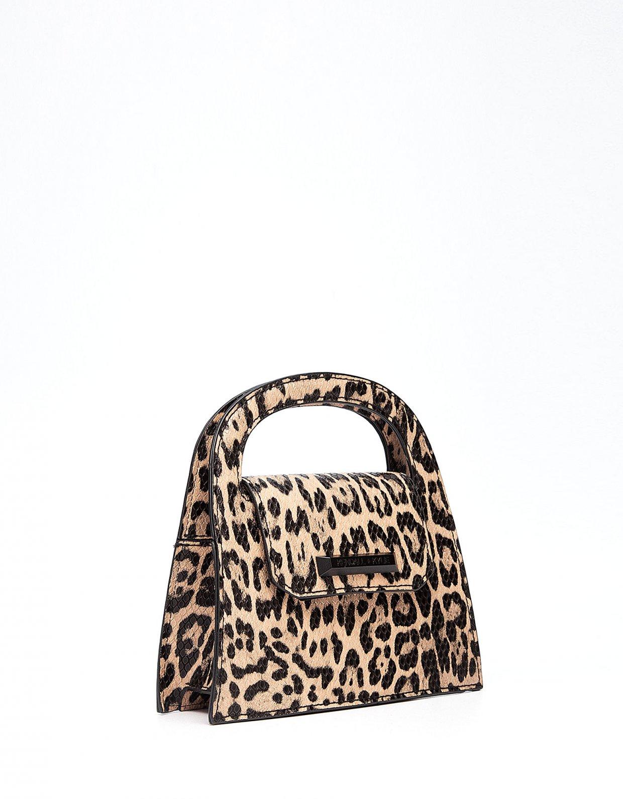 Kendall + Kylie Louisa crossbody leopard