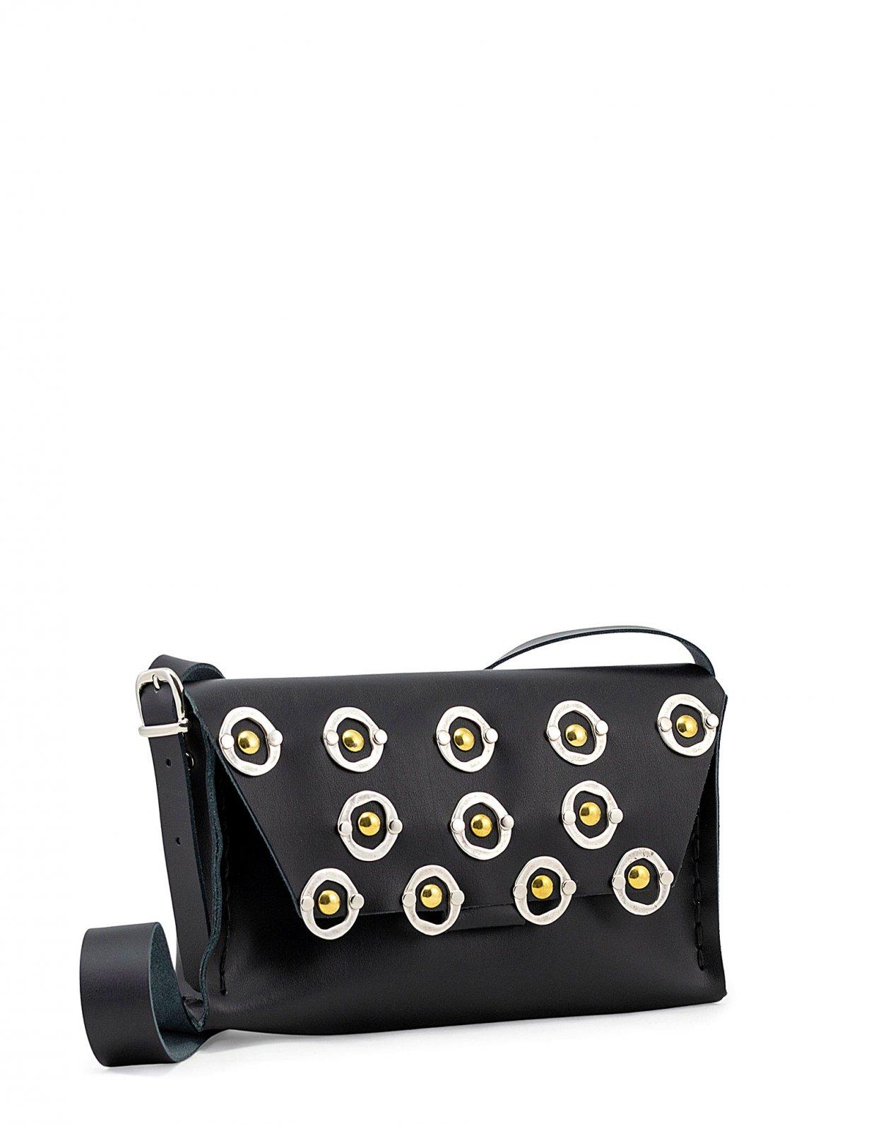 Individual Art Leather Shine bag black