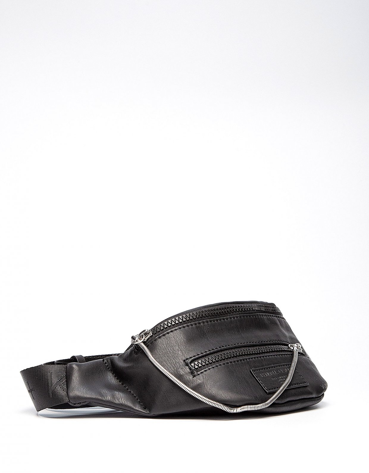 Kendall + Kylie Carina fanny pack black